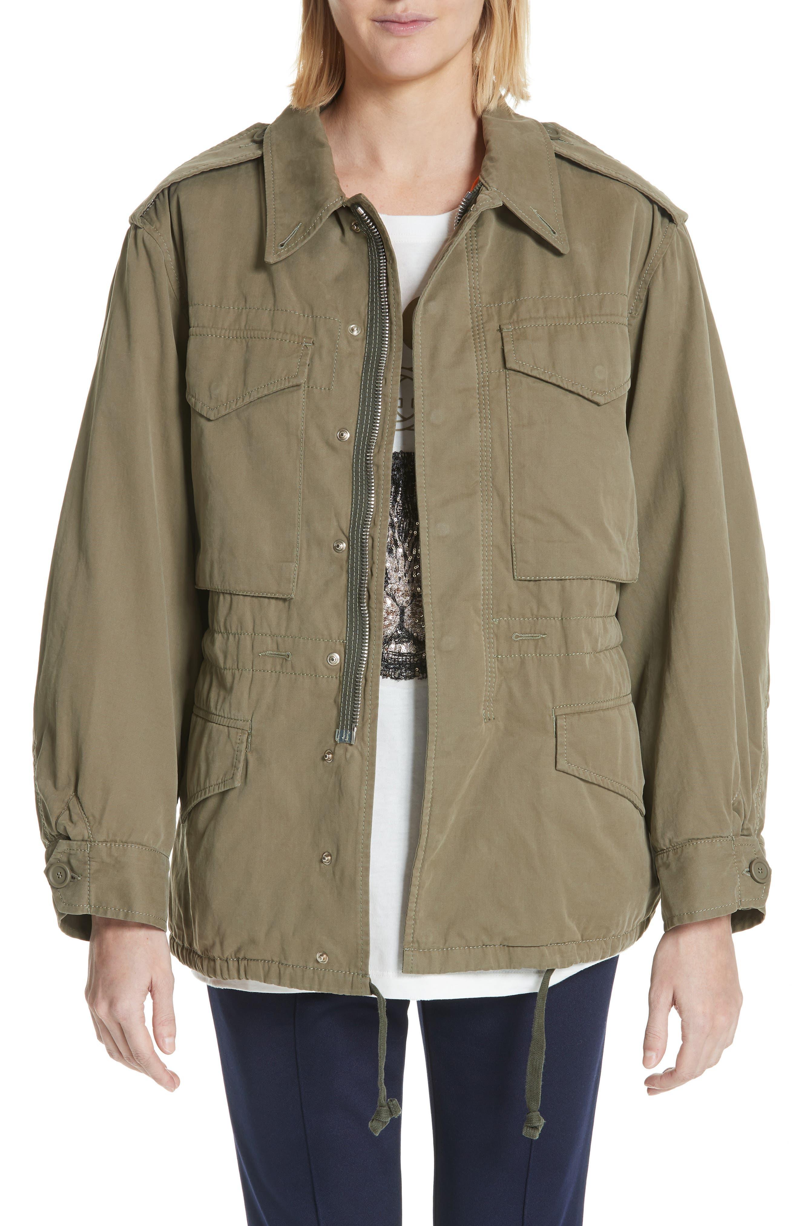 Gucci Logo Utility Jacket