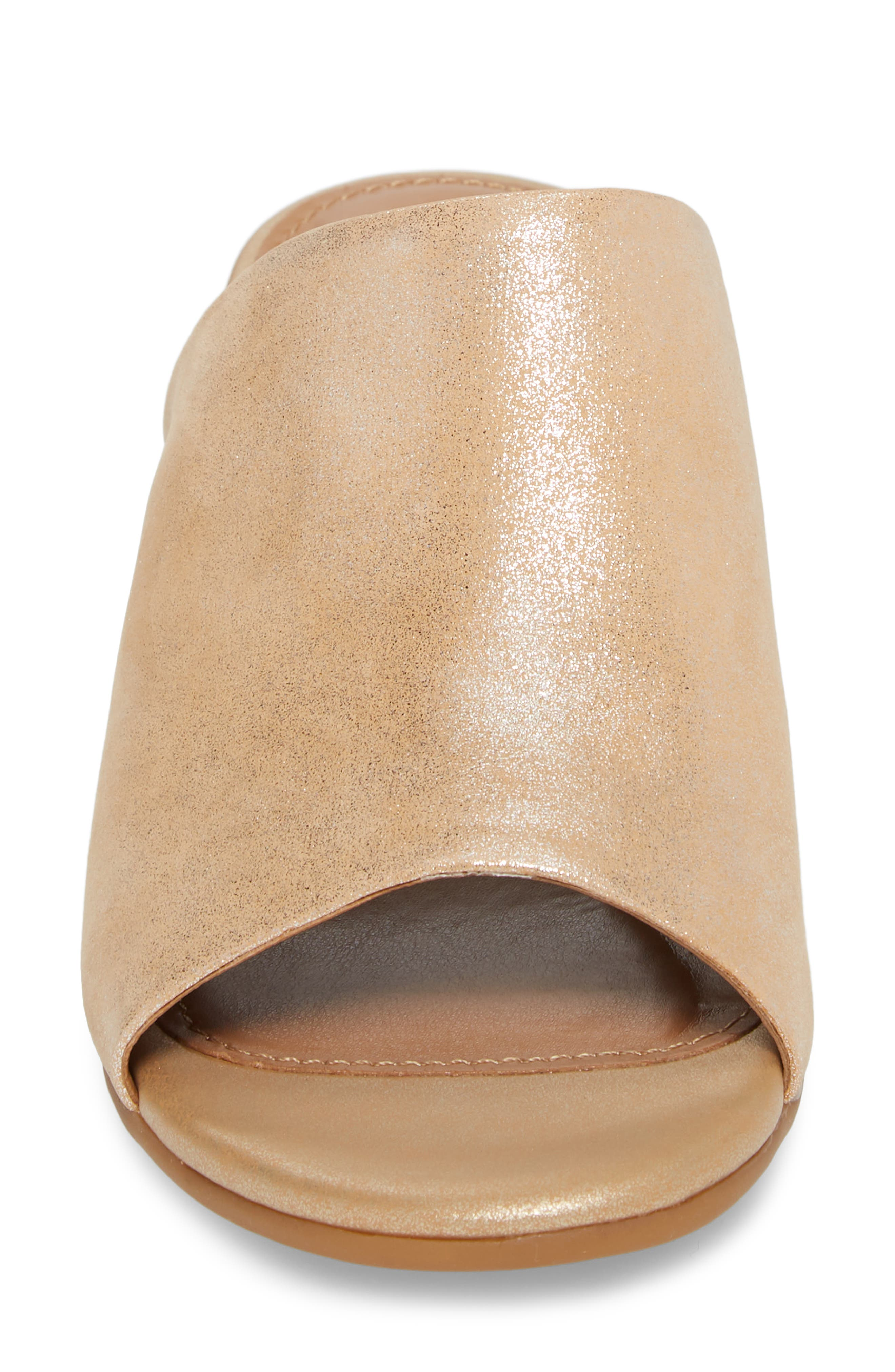 Anabella Sandal,                             Alternate thumbnail 4, color,                             Natural Leather