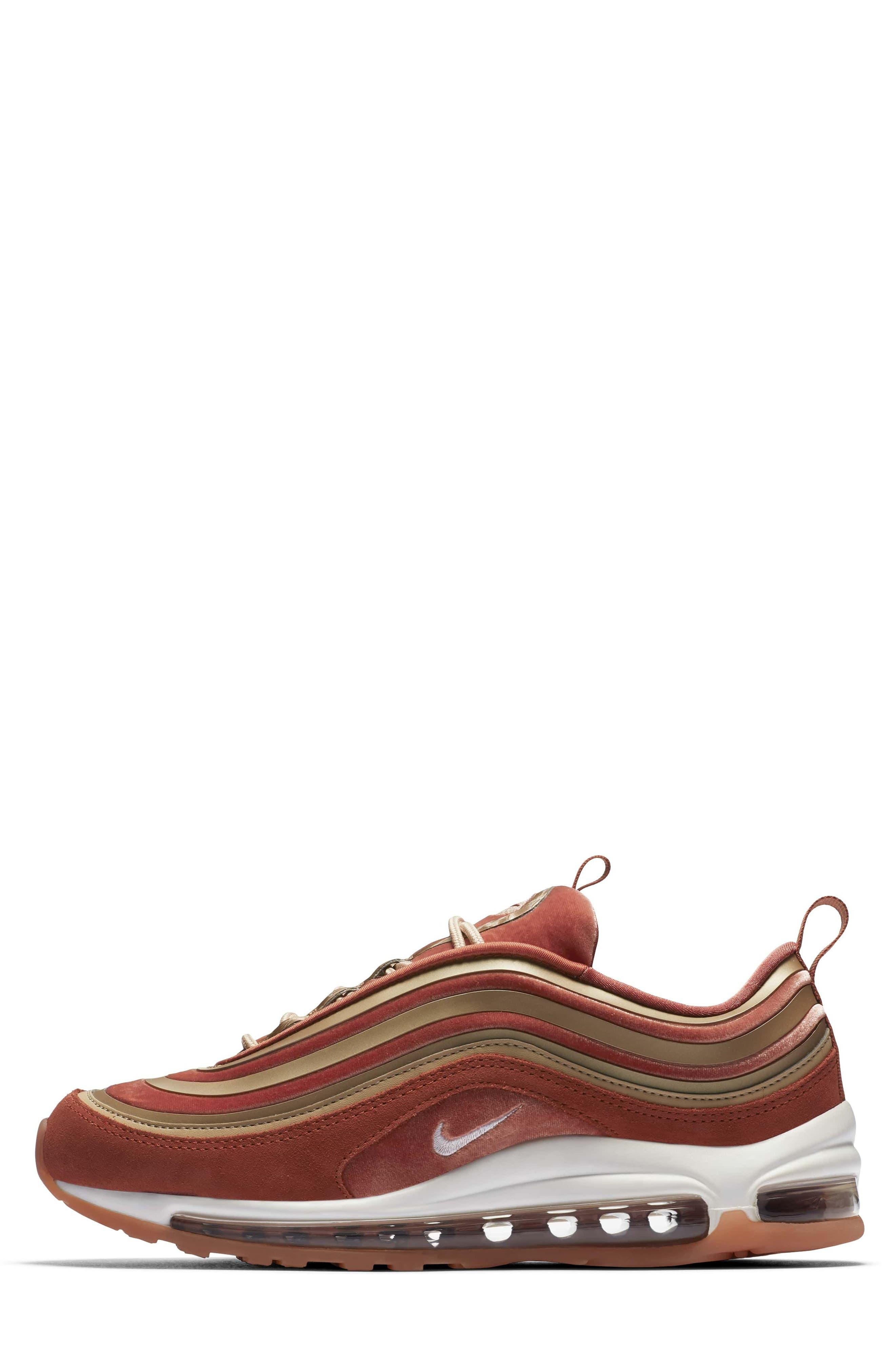 Air Max 97 Ultra '17 LX Sneaker,                             Main thumbnail 1, color,                             Dusty Peach/ Summit White