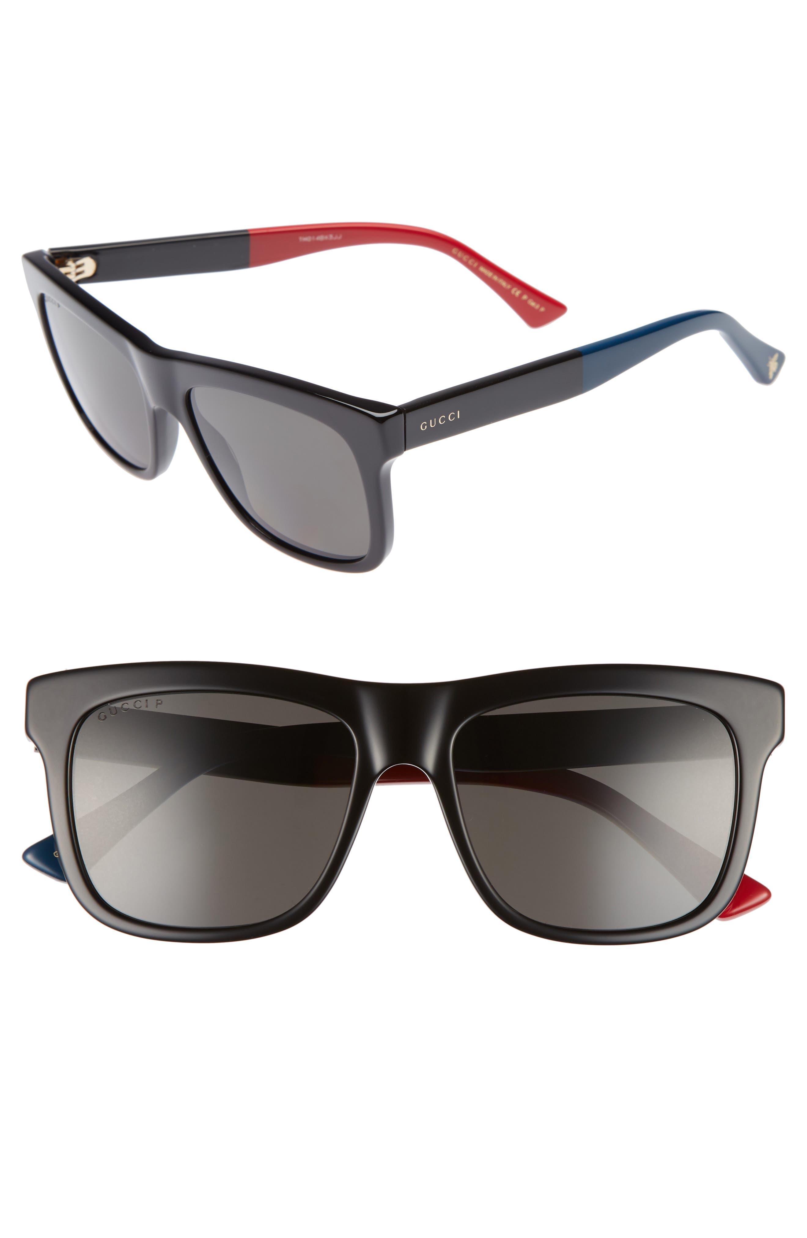 Gucci 54mm Polarized Sunglasses