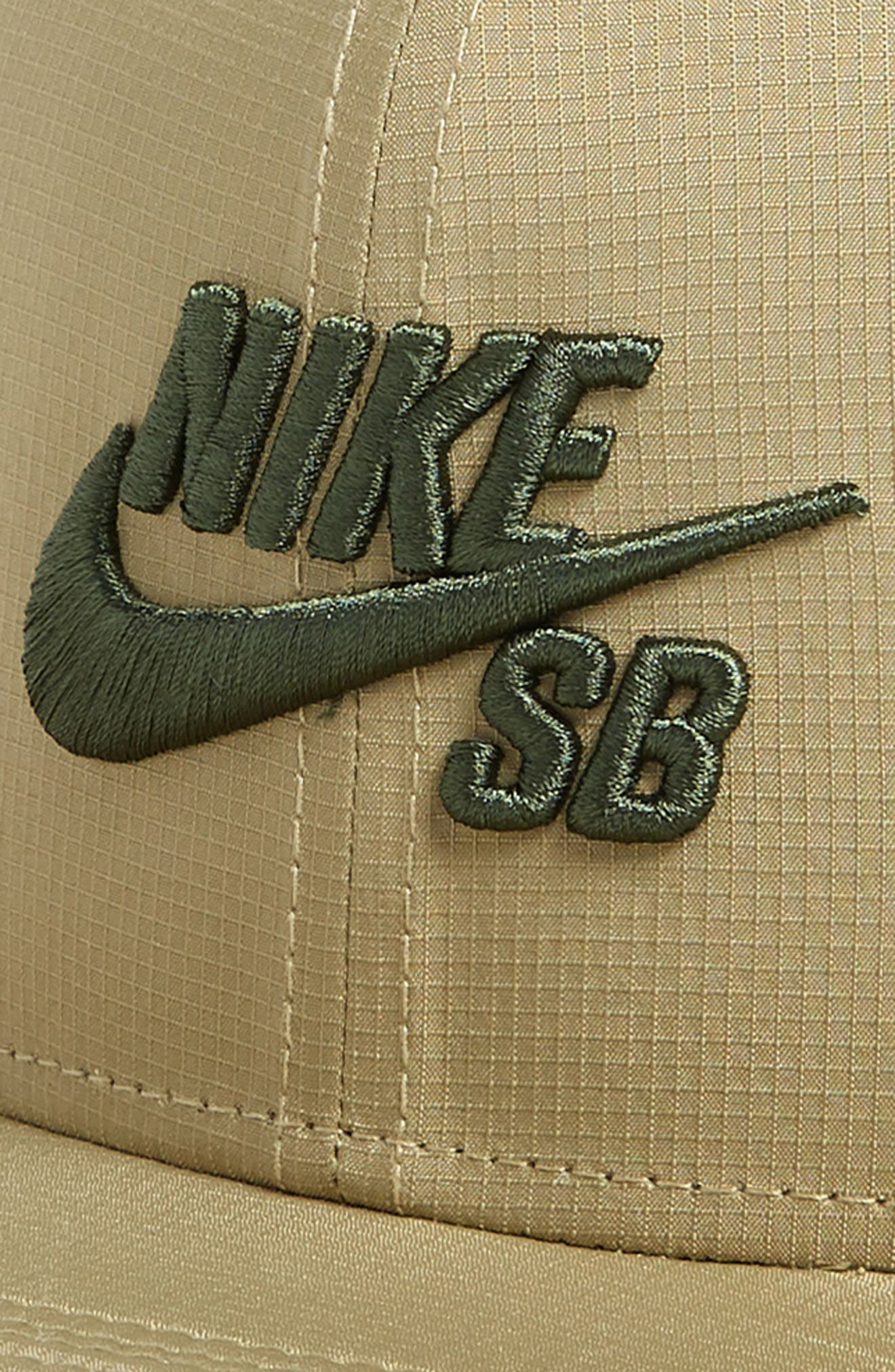 Performance Trucker Hat,                             Alternate thumbnail 3, color,                             Neutral Olive/ Olive/ Sequoia