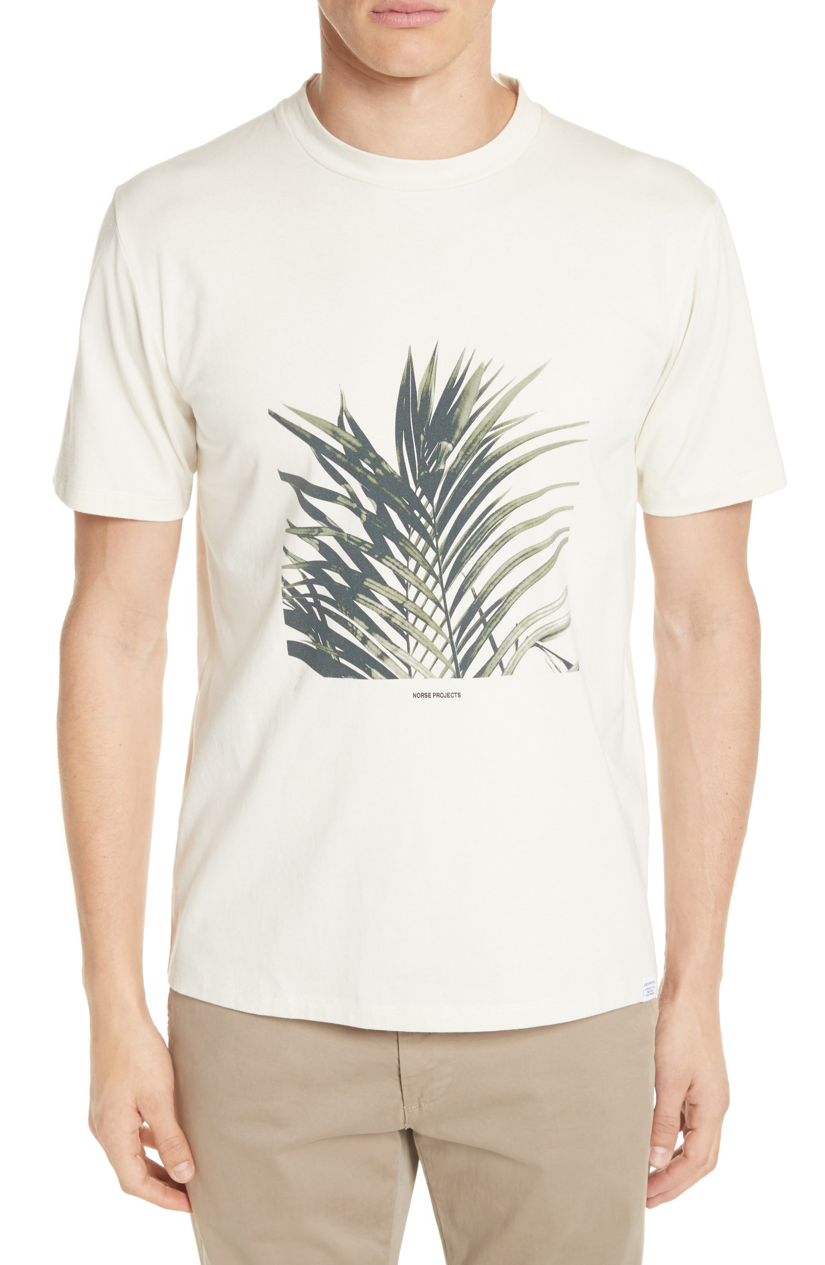 Norse Projects James Palm Graphic T-Shirt
