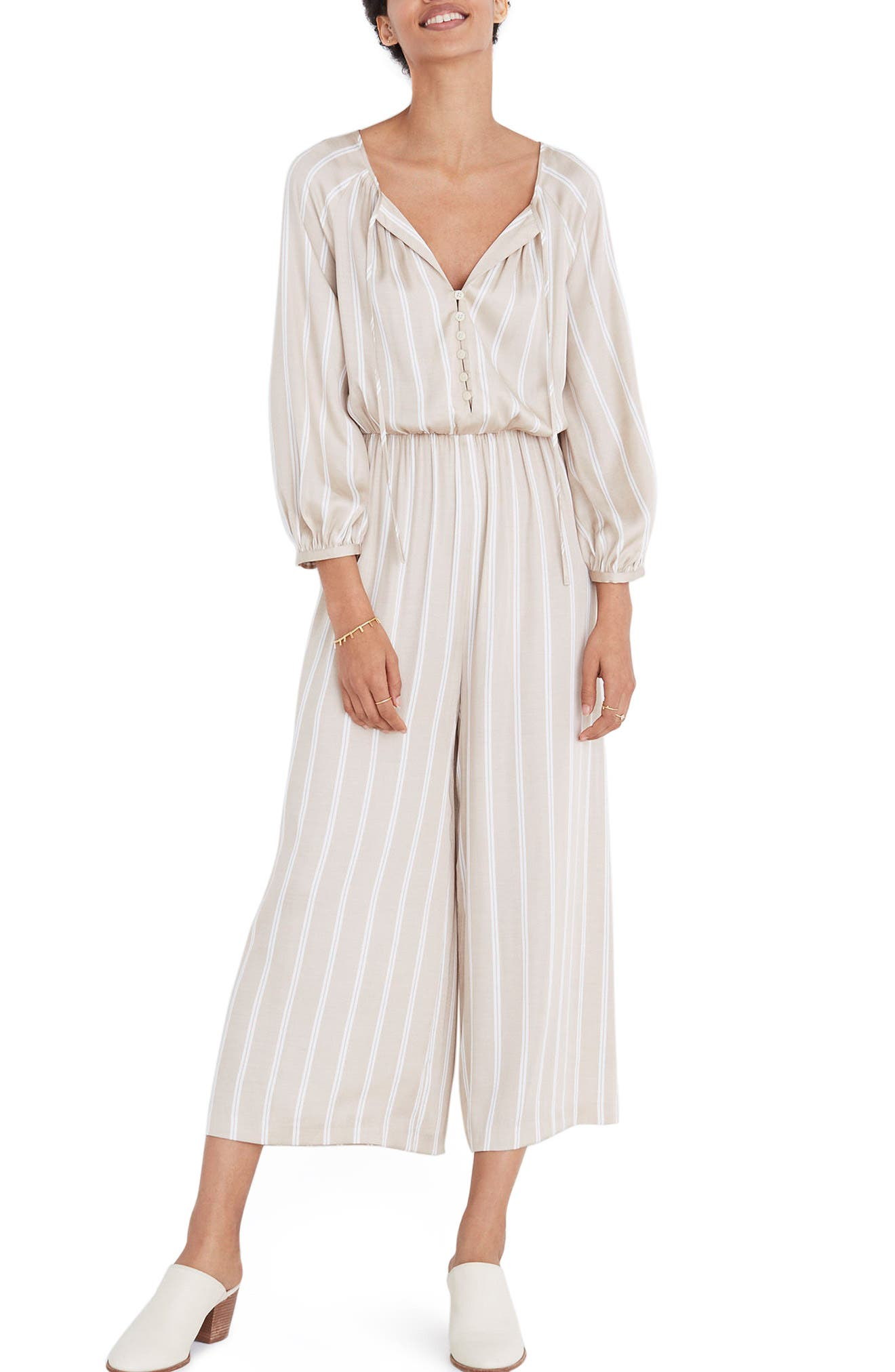 Madewell Cypress Stripe Jumpsuit