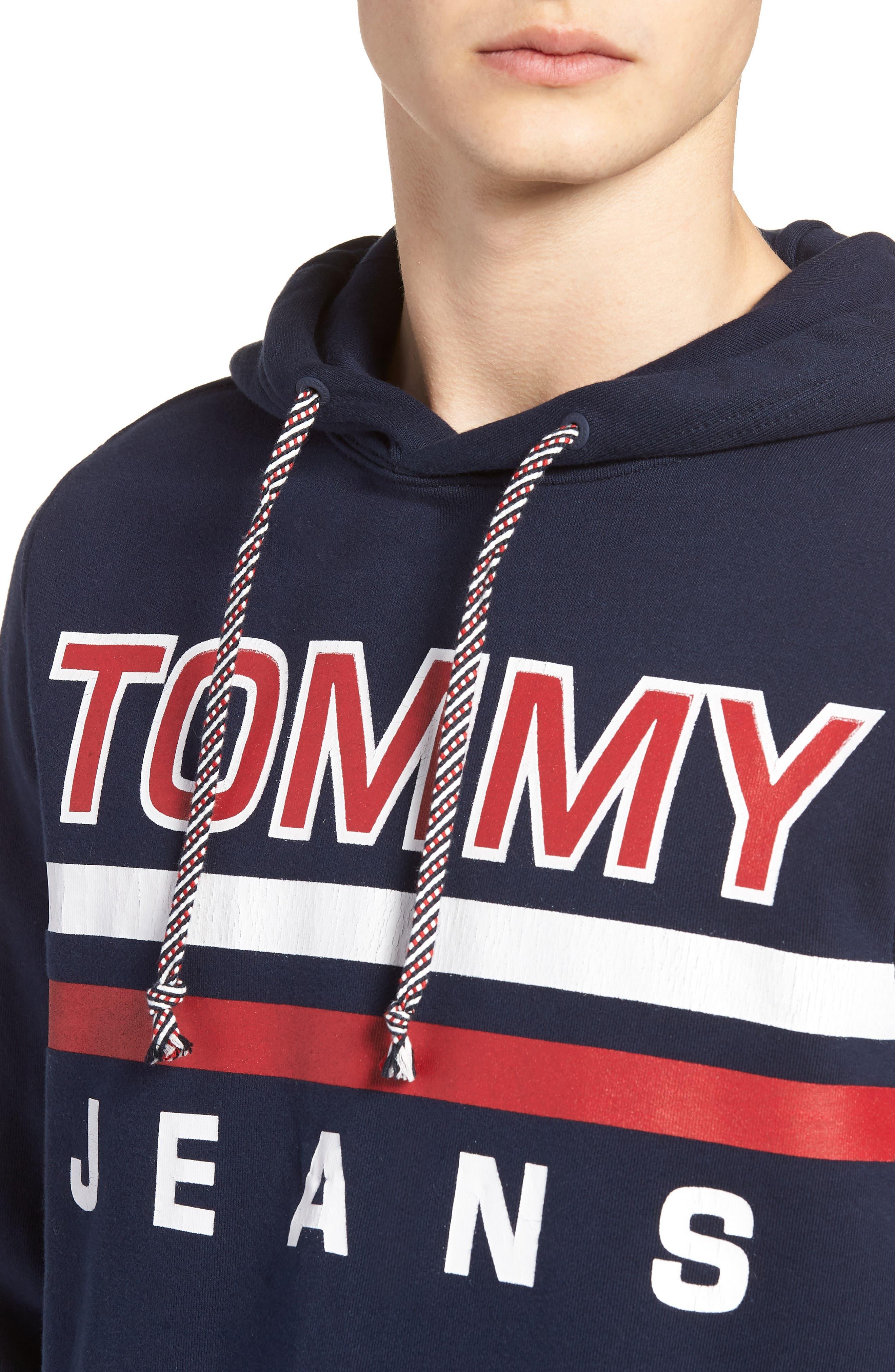 Alternate Image 4  - TOMMY JEANS Essential Graphic Hoodie Sweatshirt