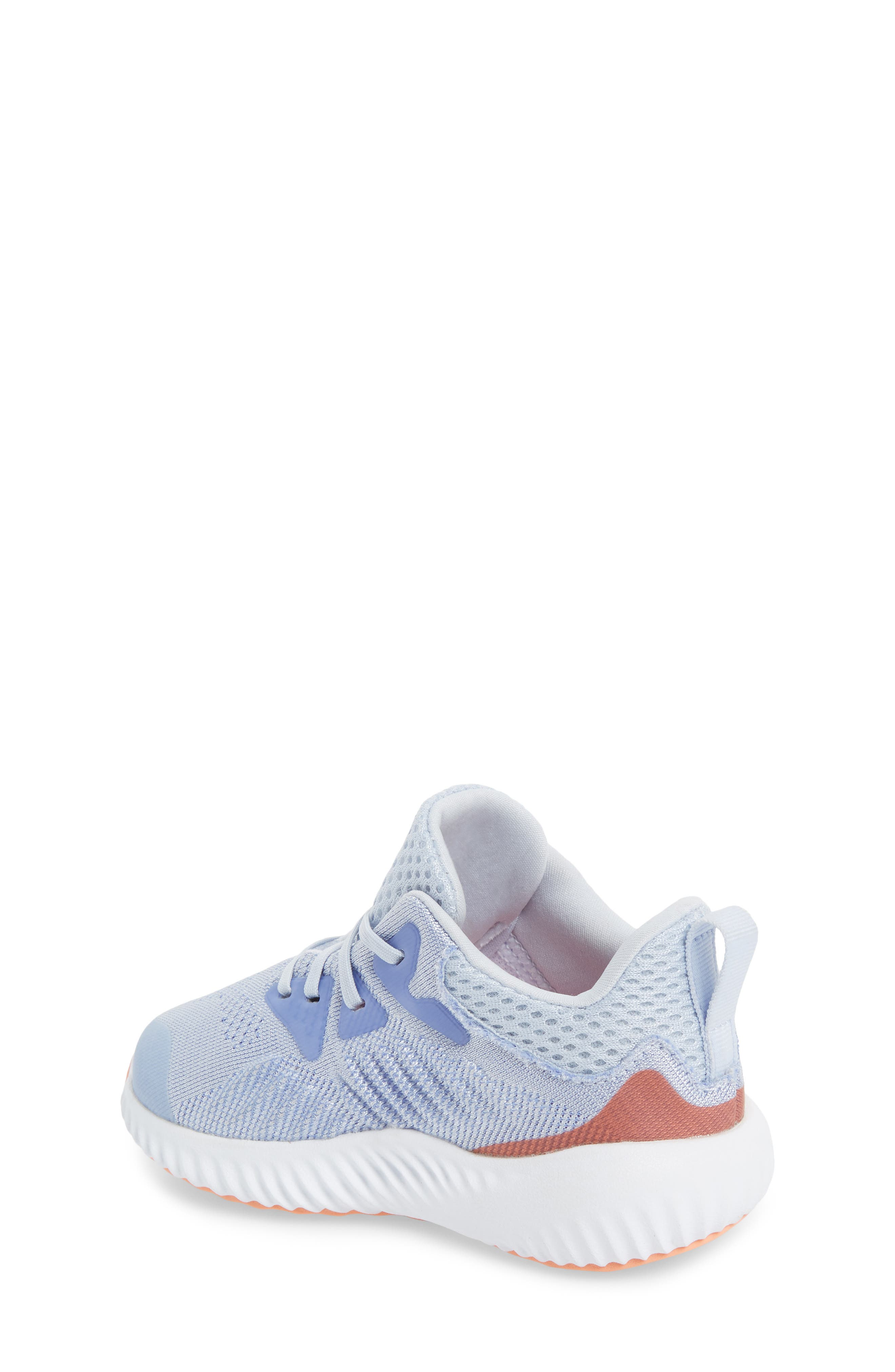 AlphaBounce Beyond Running Shoe,                             Alternate thumbnail 2, color,                             Blue/ Chalk Purple/ White