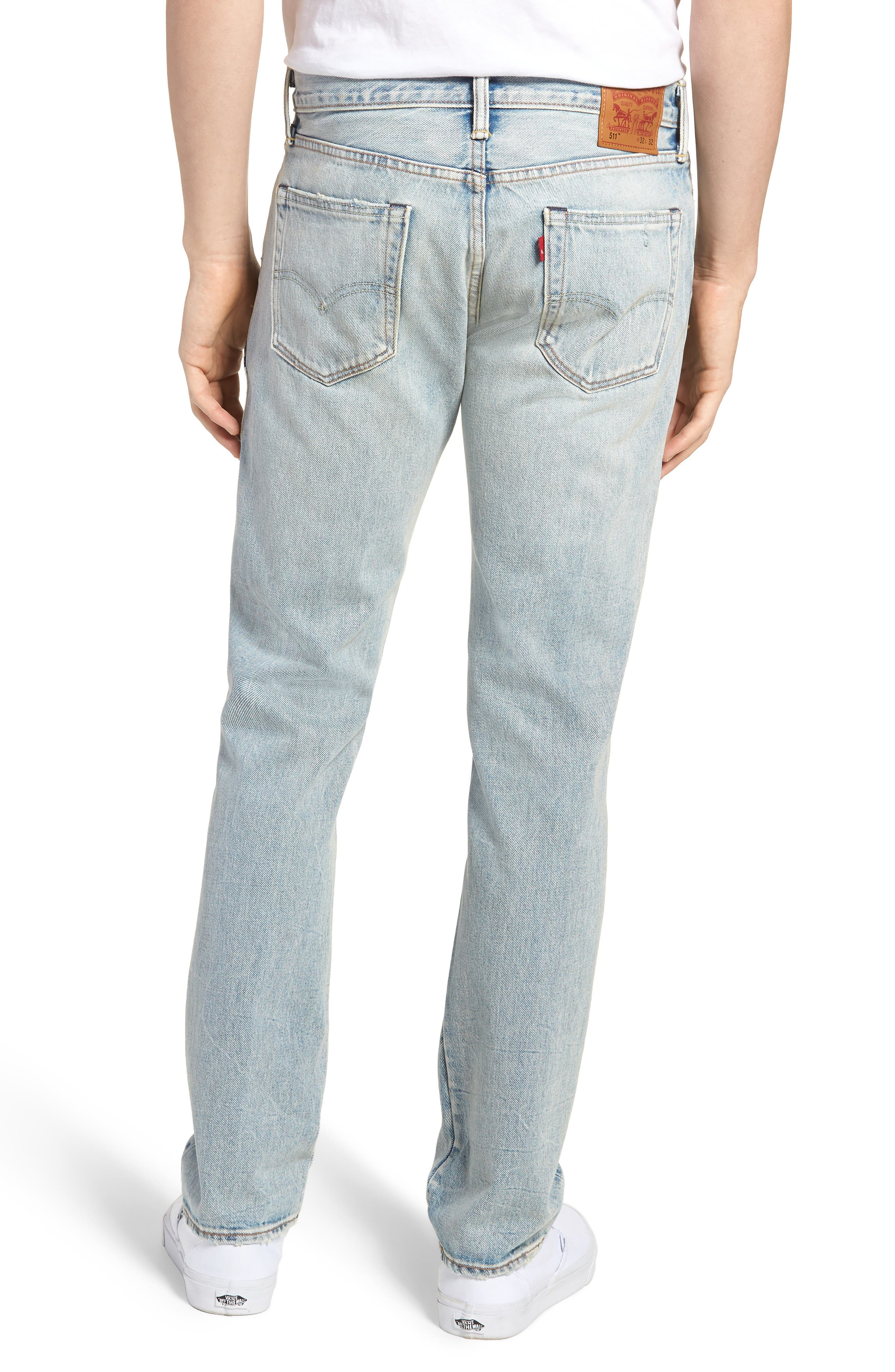 511<sup>™</sup> Slim Fit Jeans,                             Alternate thumbnail 2, color,                             Patch Up