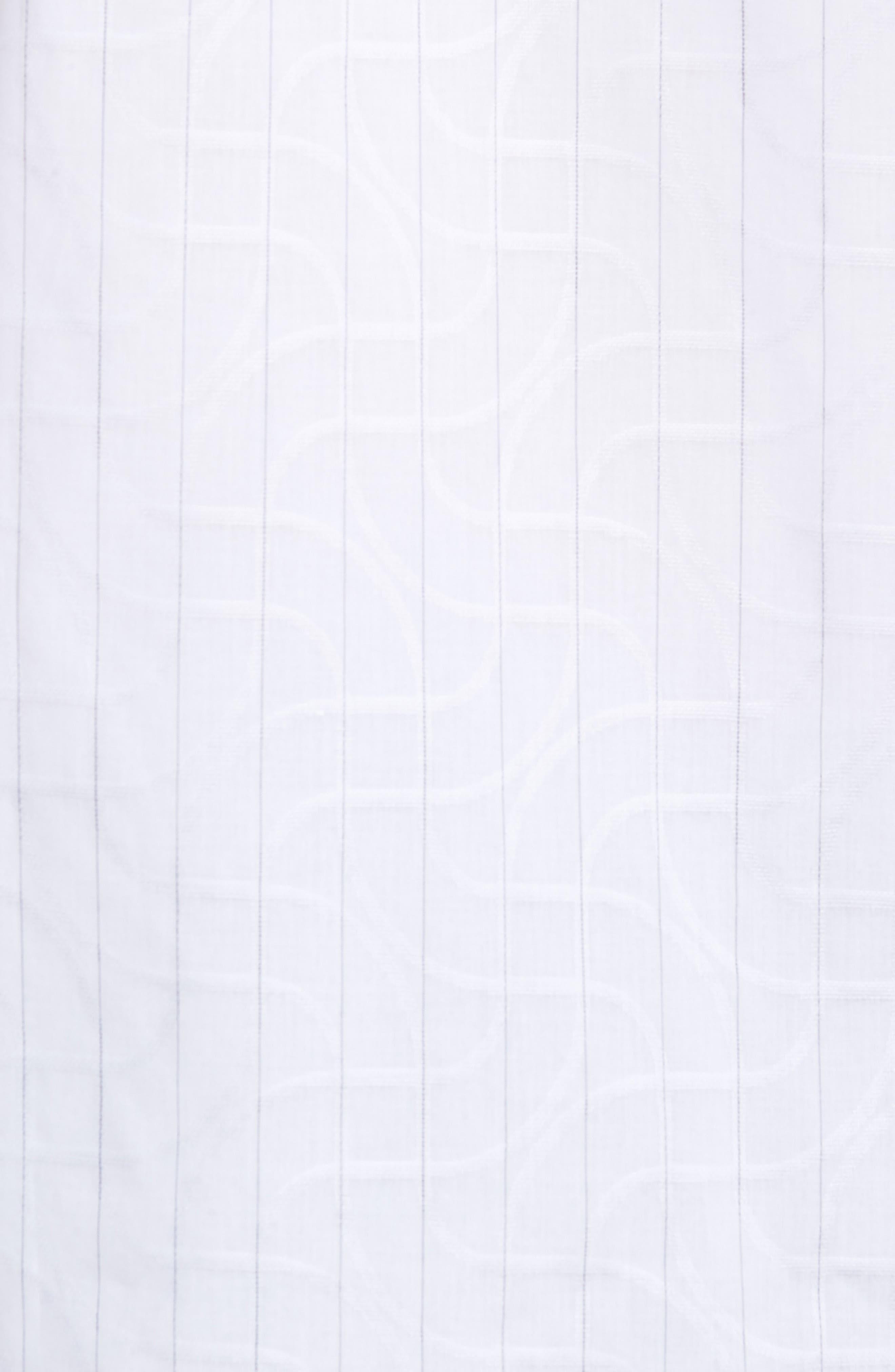 Woven Sport Shirt,                             Alternate thumbnail 5, color,                             White