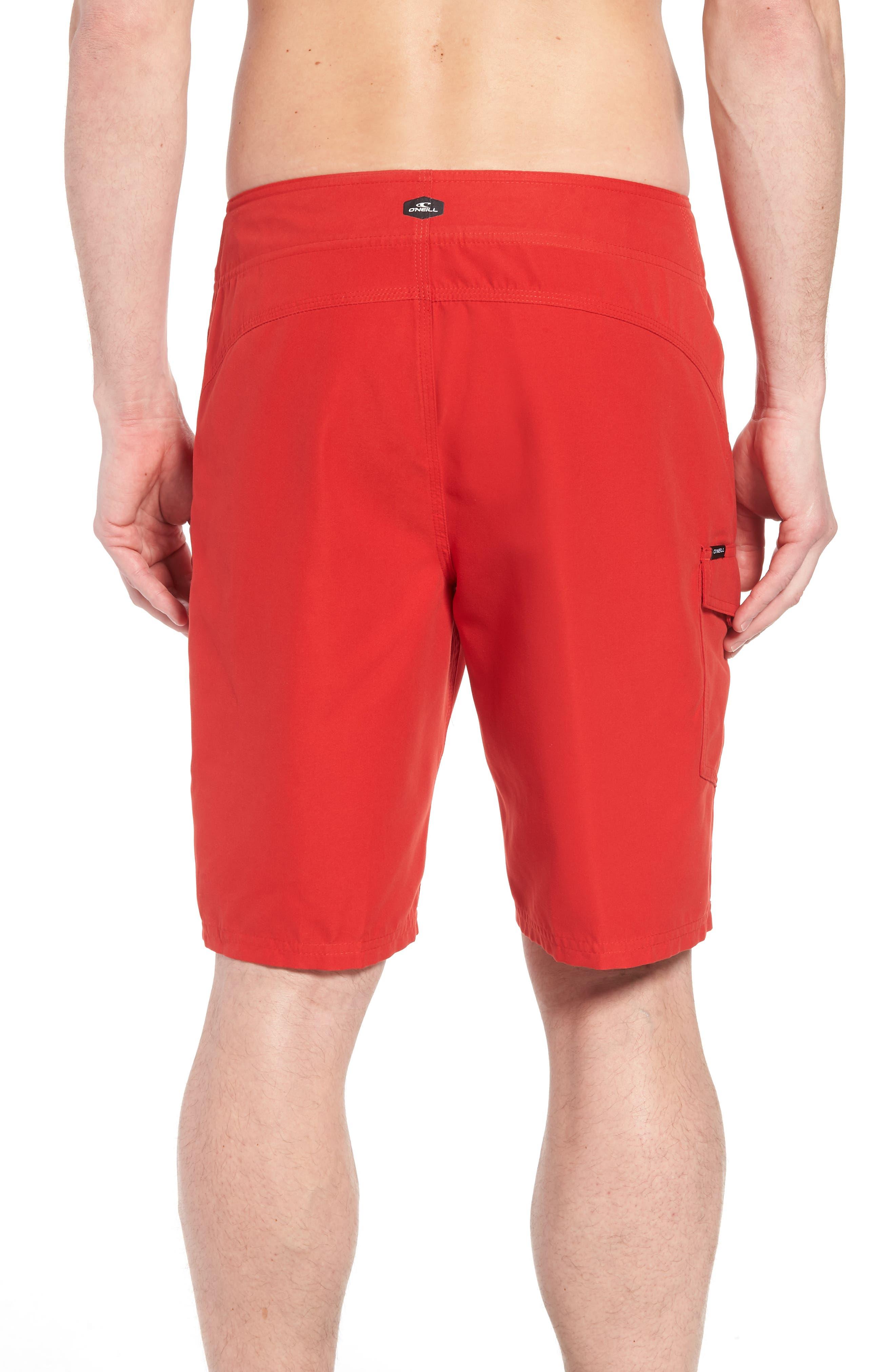 Santa Cruz Board Shorts,                             Alternate thumbnail 2, color,                             Red