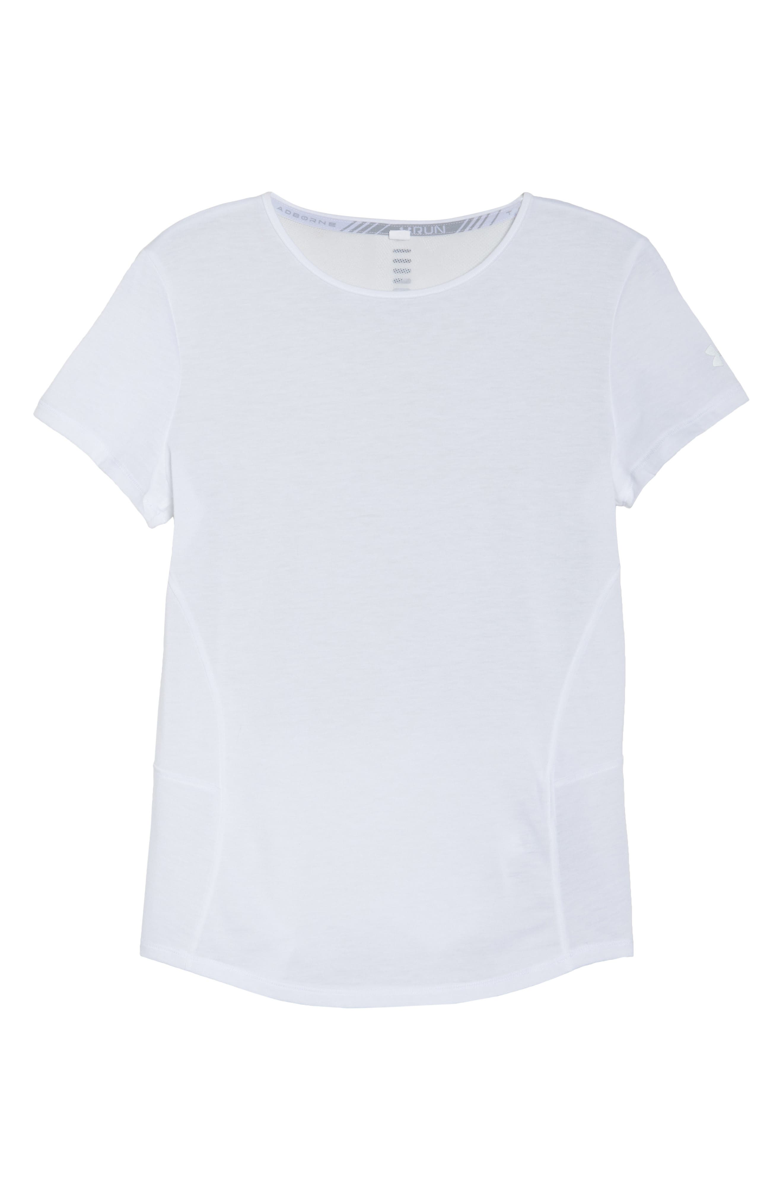 Microthread Swyft Tee,                             Alternate thumbnail 4, color,                             White