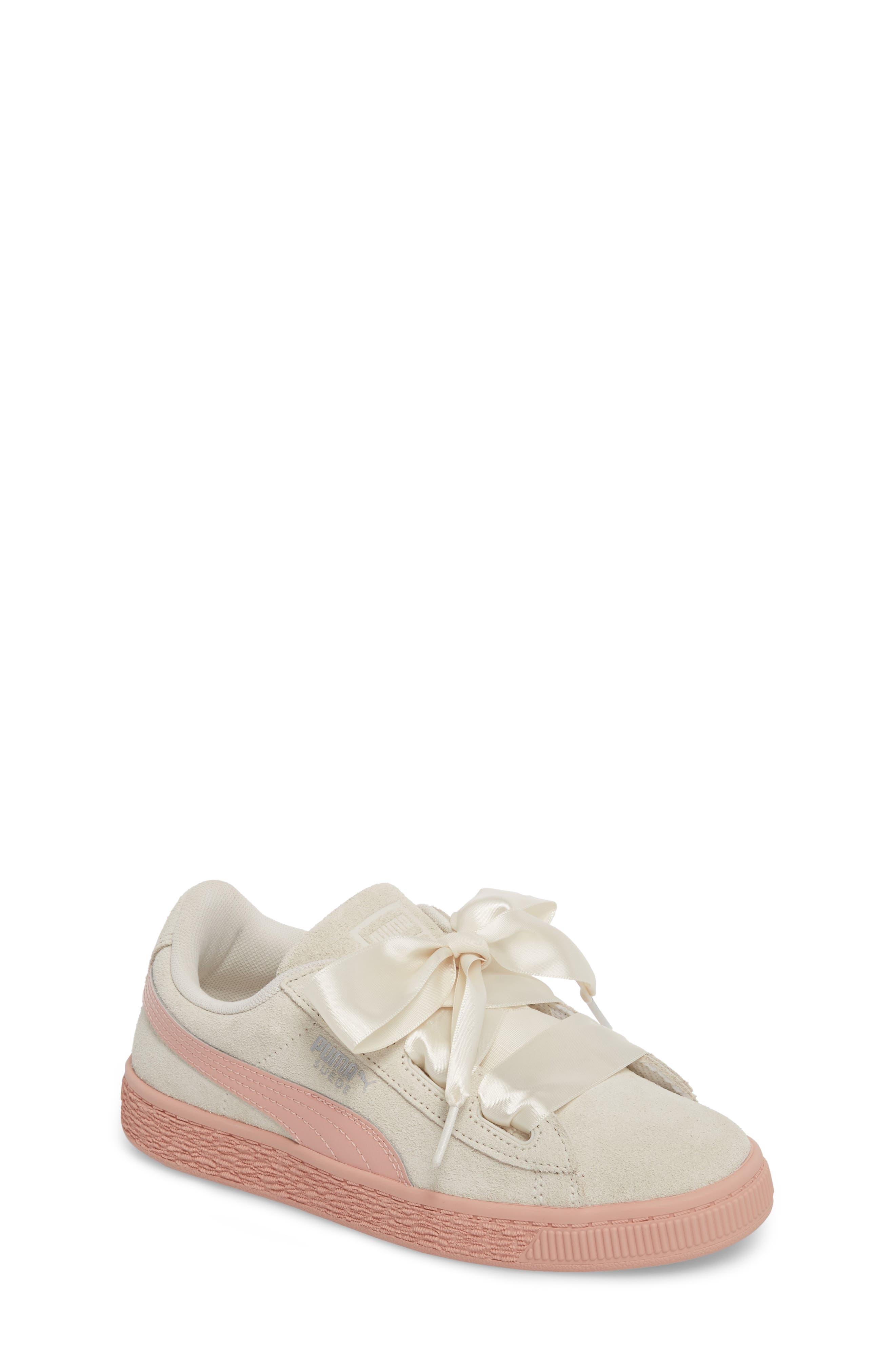 PUMA Suede Heart Sneaker (Baby, Walker, Toddler, Little Kid & Big Kid)