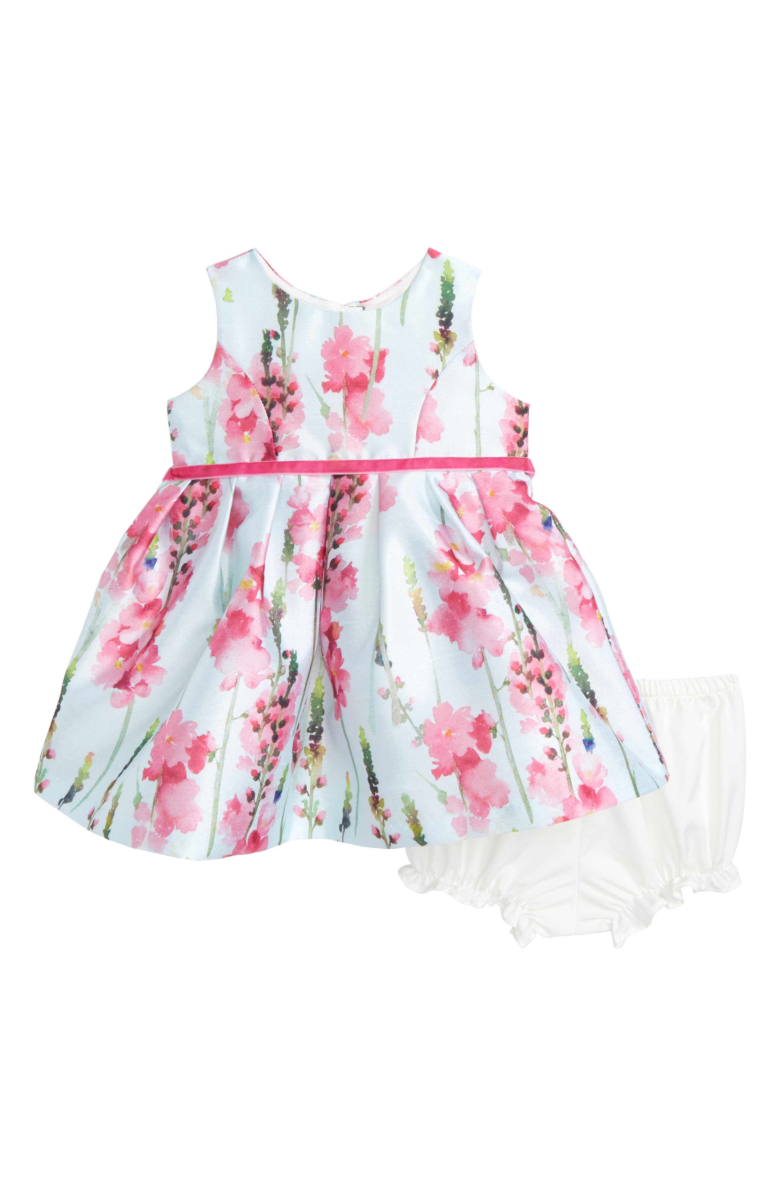 Frais Floral Party Dress (Baby Girls)