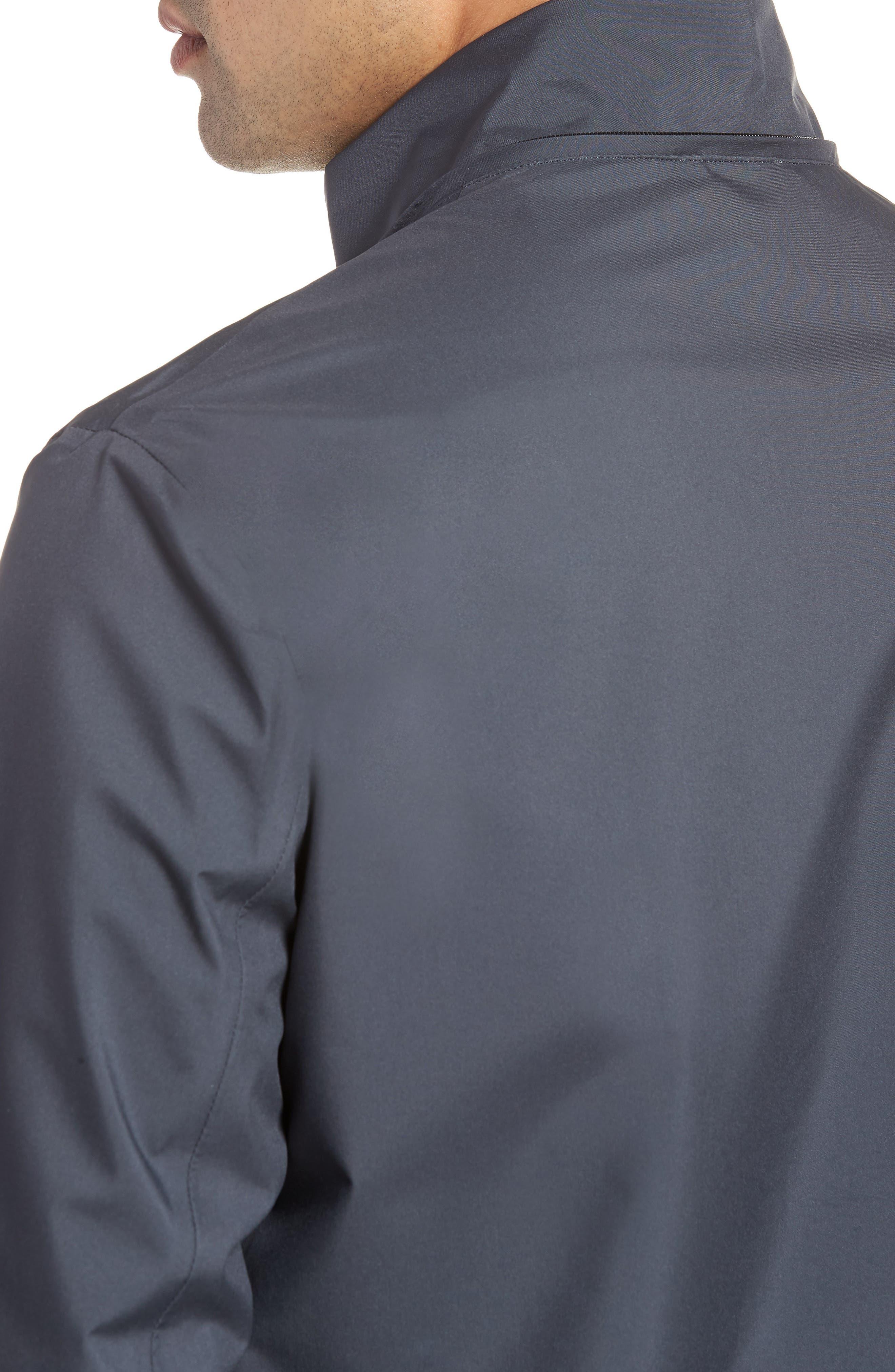 Regular Fit Jacket,                             Alternate thumbnail 4, color,                             Slate