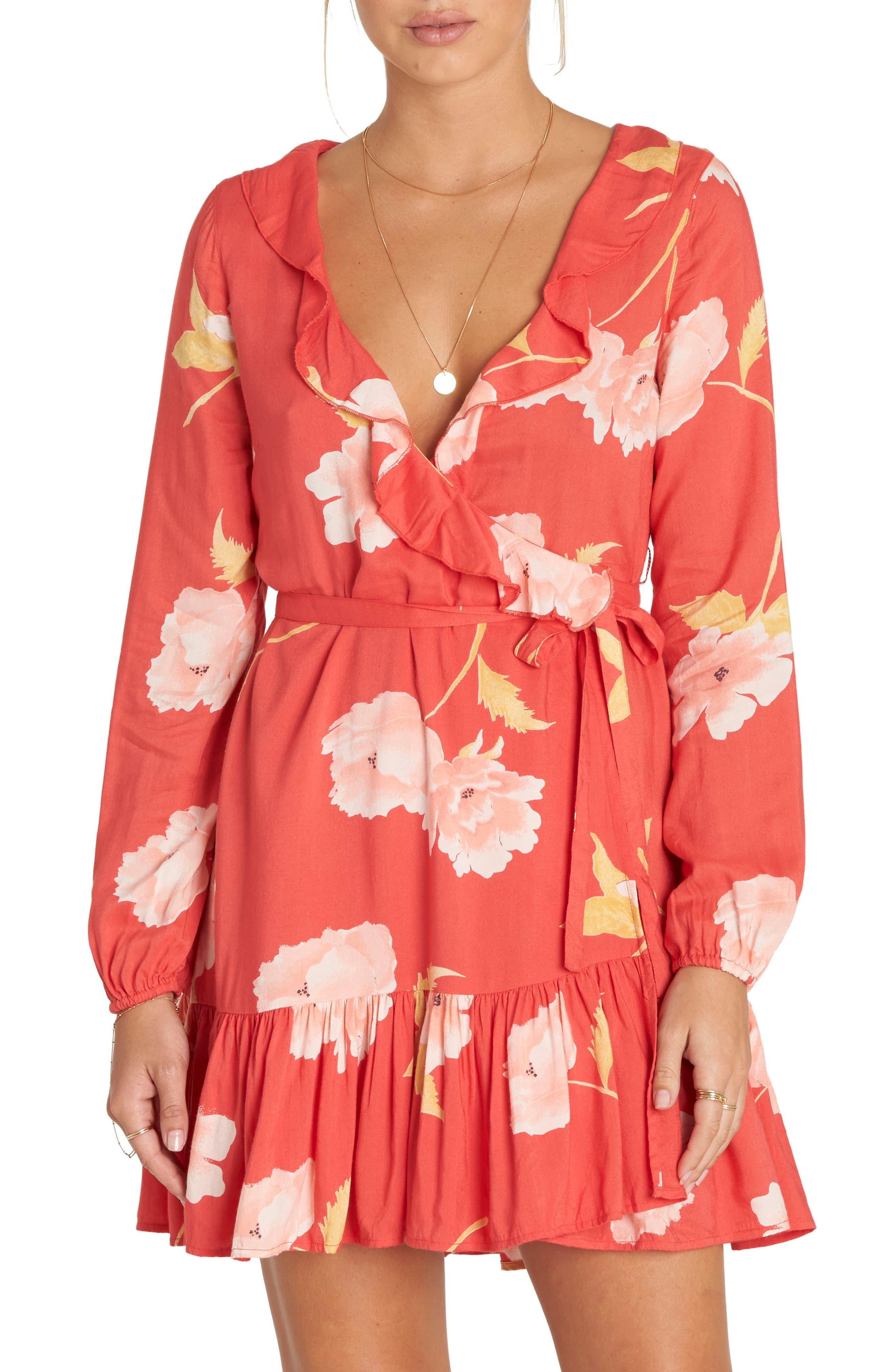 Billabong Ruff Girls Club Wrap Dress
