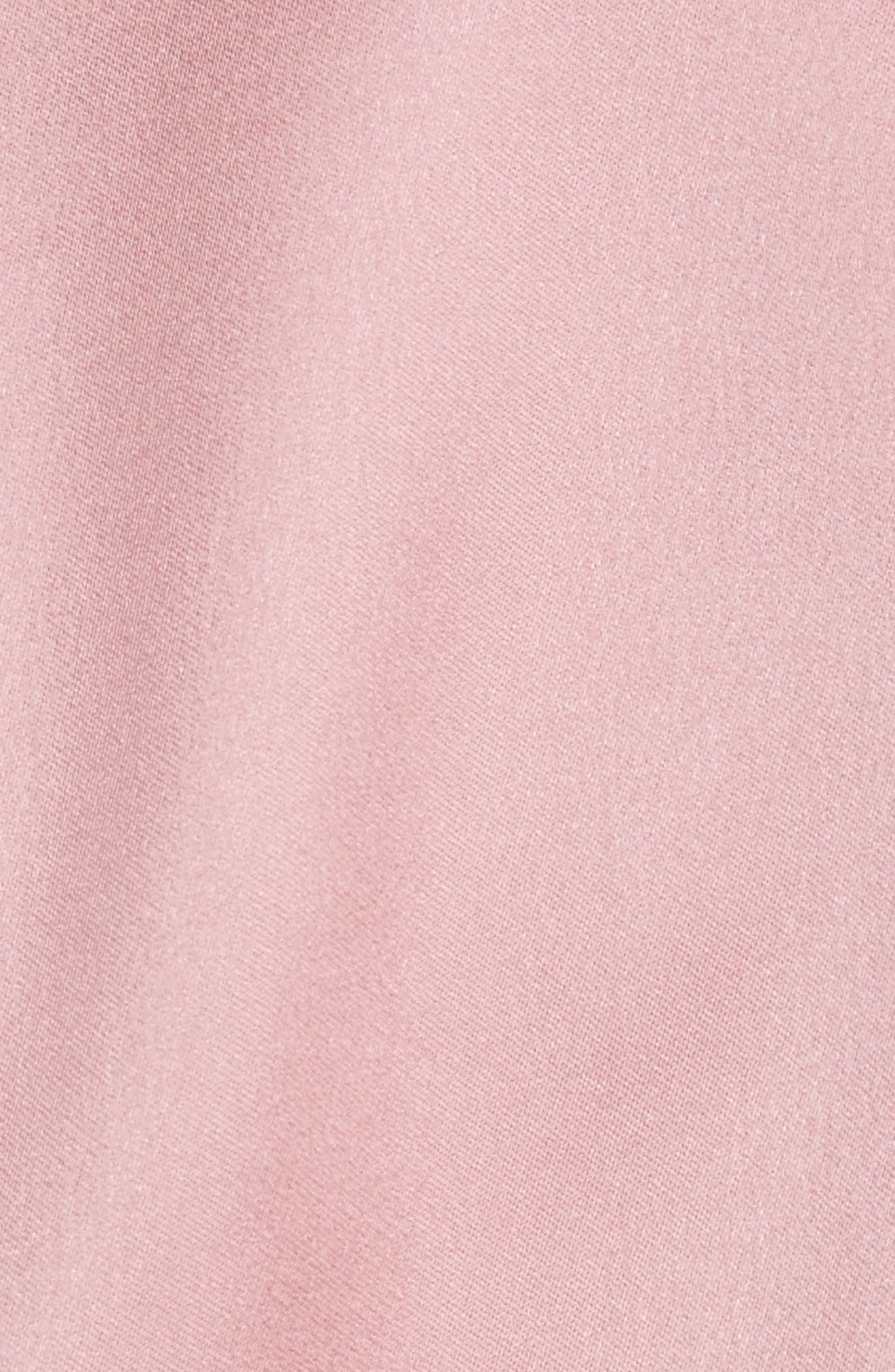 Rhubi High/Low Dress,                             Alternate thumbnail 5, color,                             Pink
