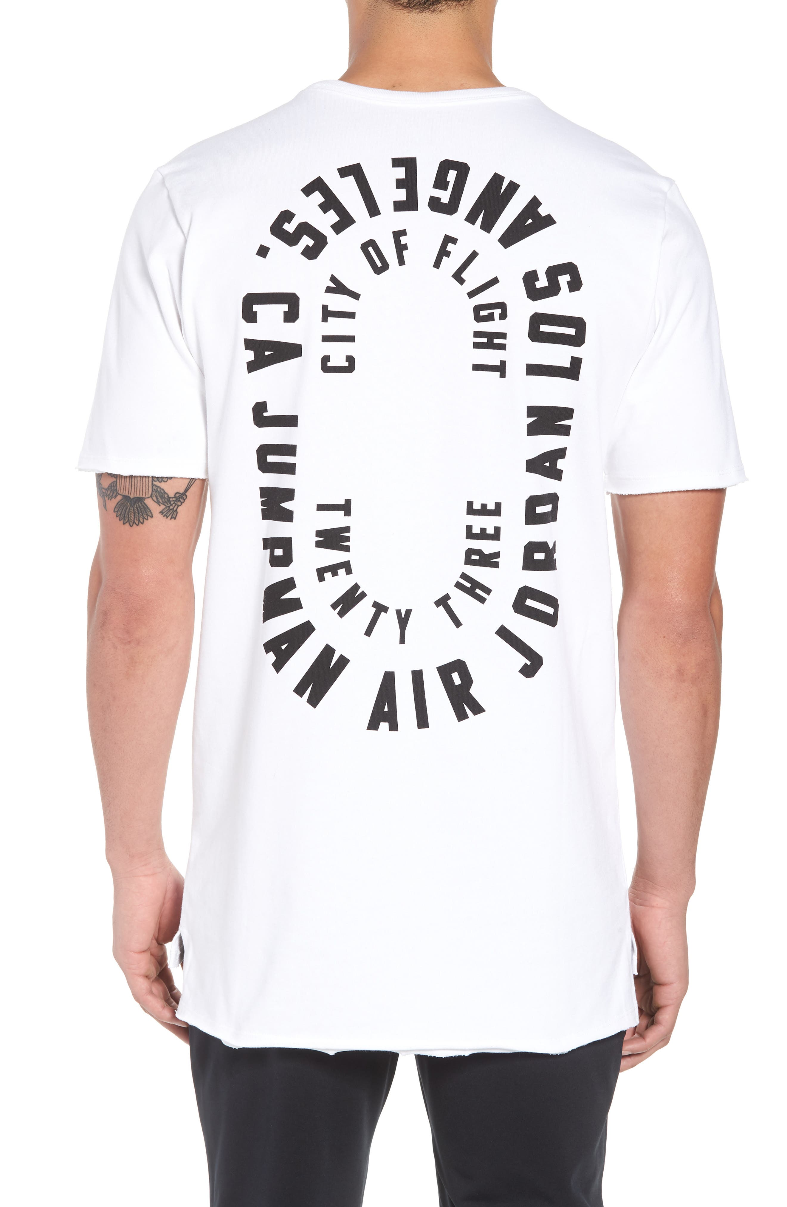 City Of Flight T-Shirt,                             Alternate thumbnail 2, color,                             White