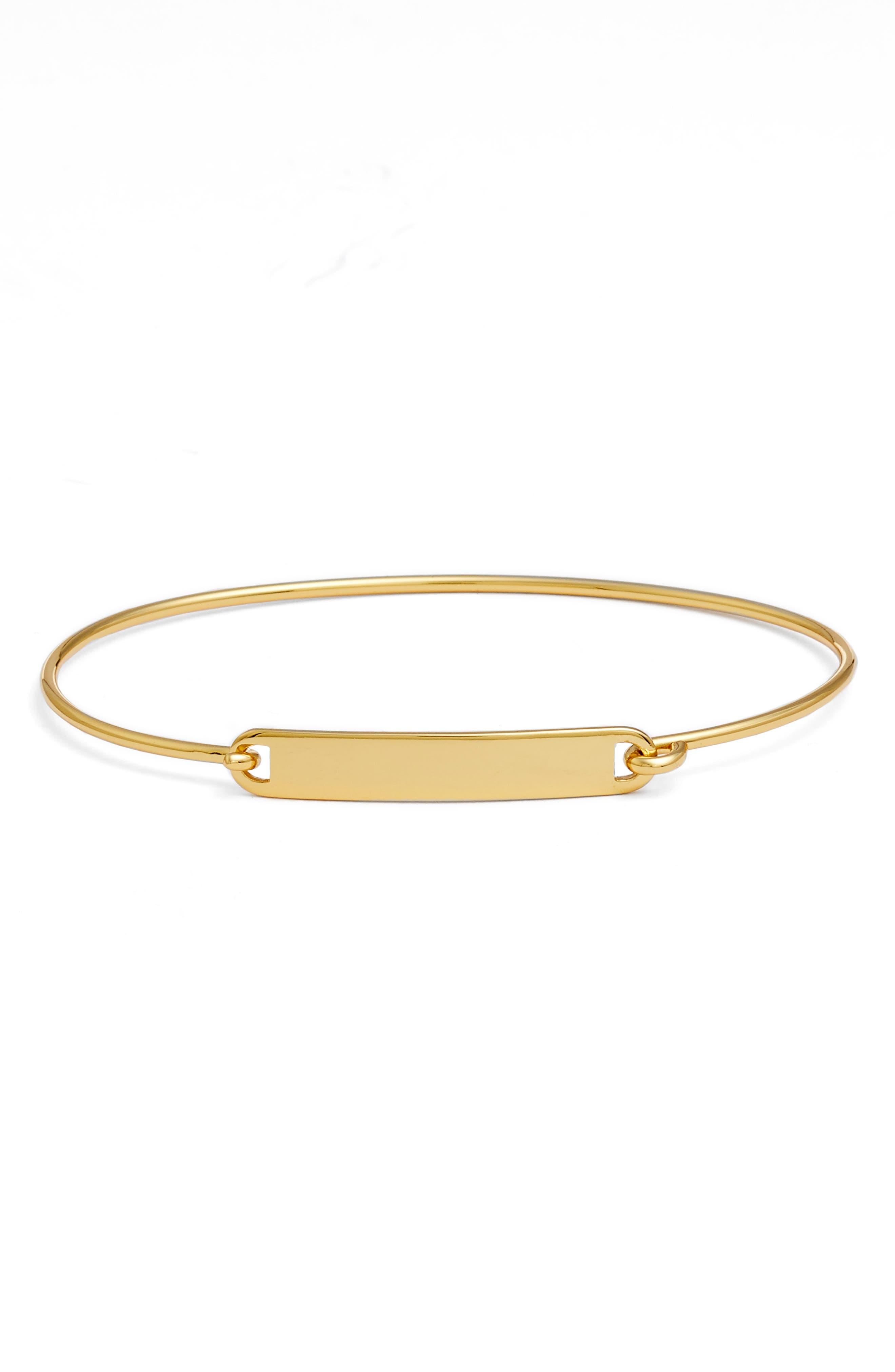 Argento Vivo ID Cuff Bracelet