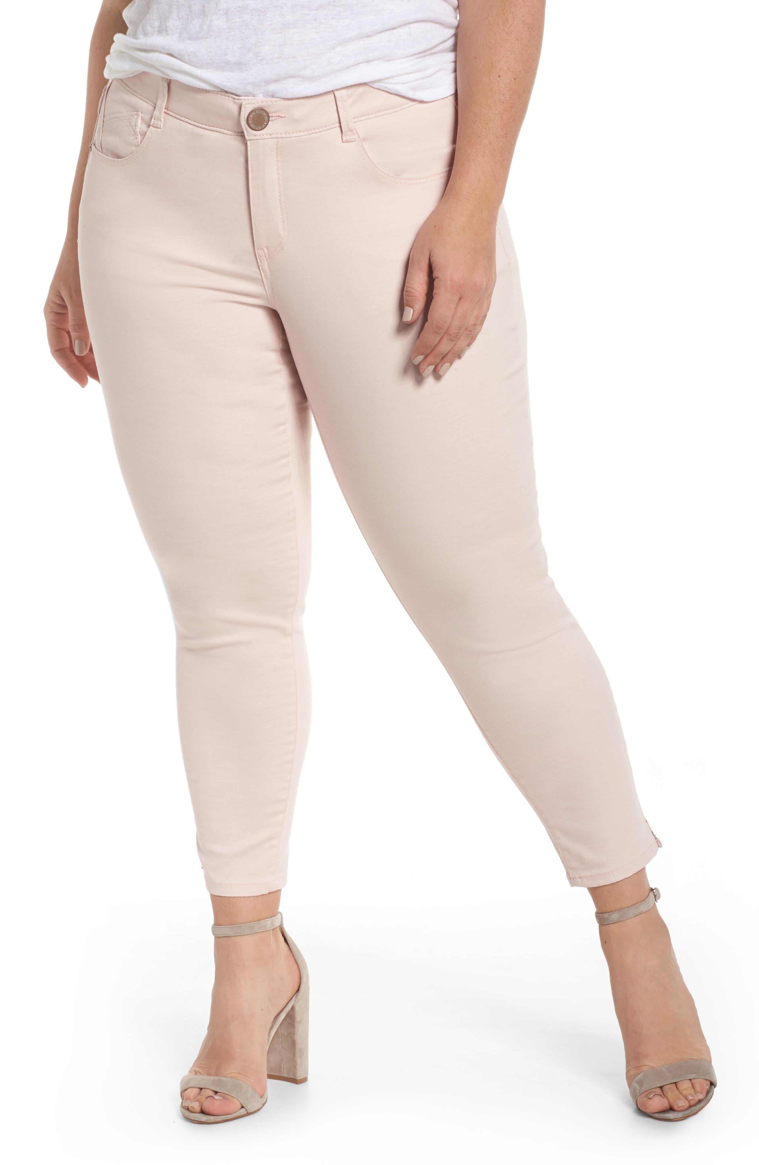 Wit & Wisdom Ab-solution Ankle Pants (Plus Size) (Nordstrom Exclusive)