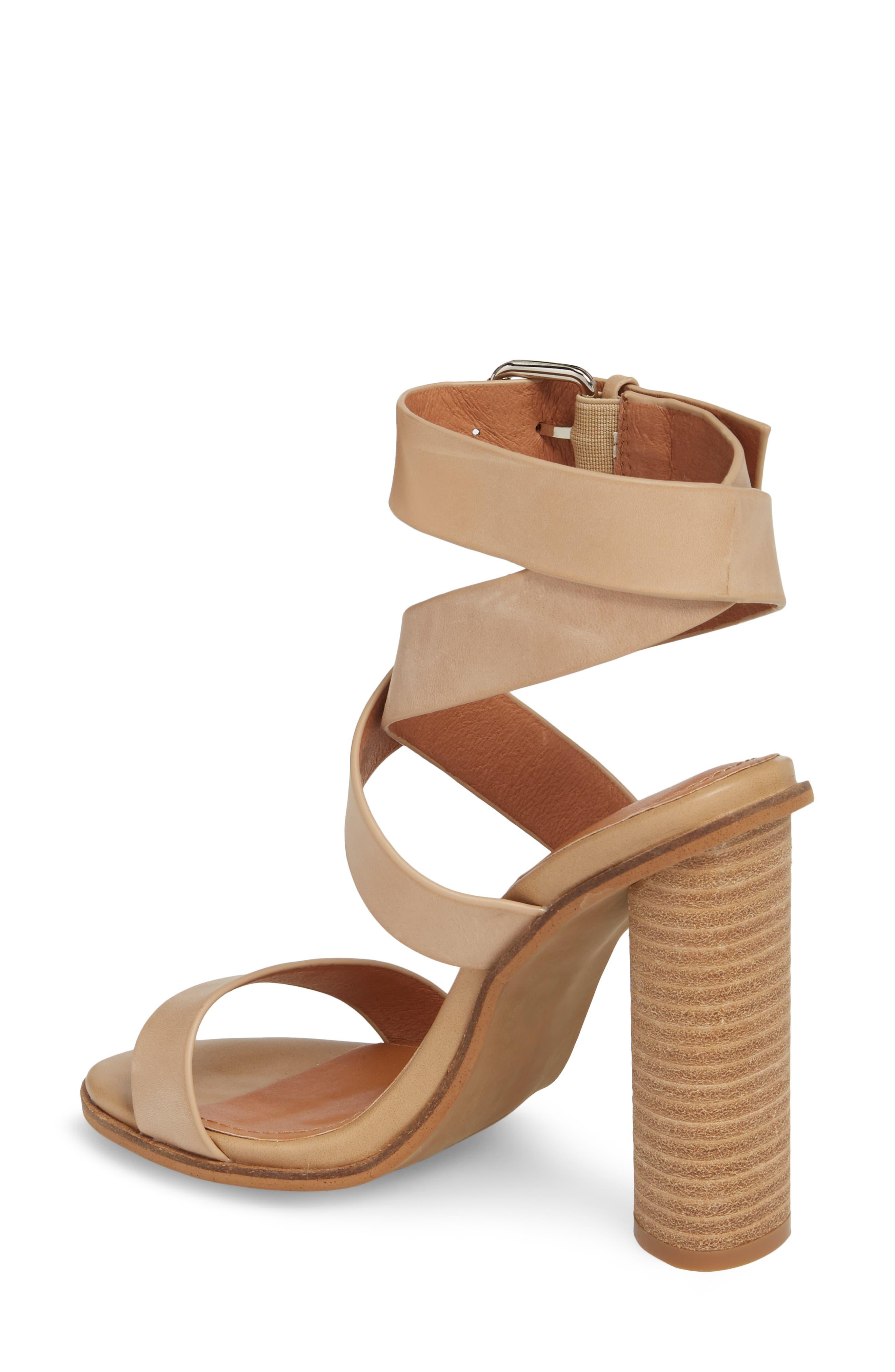Abaala Cross Strap Sandal,                             Alternate thumbnail 2, color,                             Natural Leather