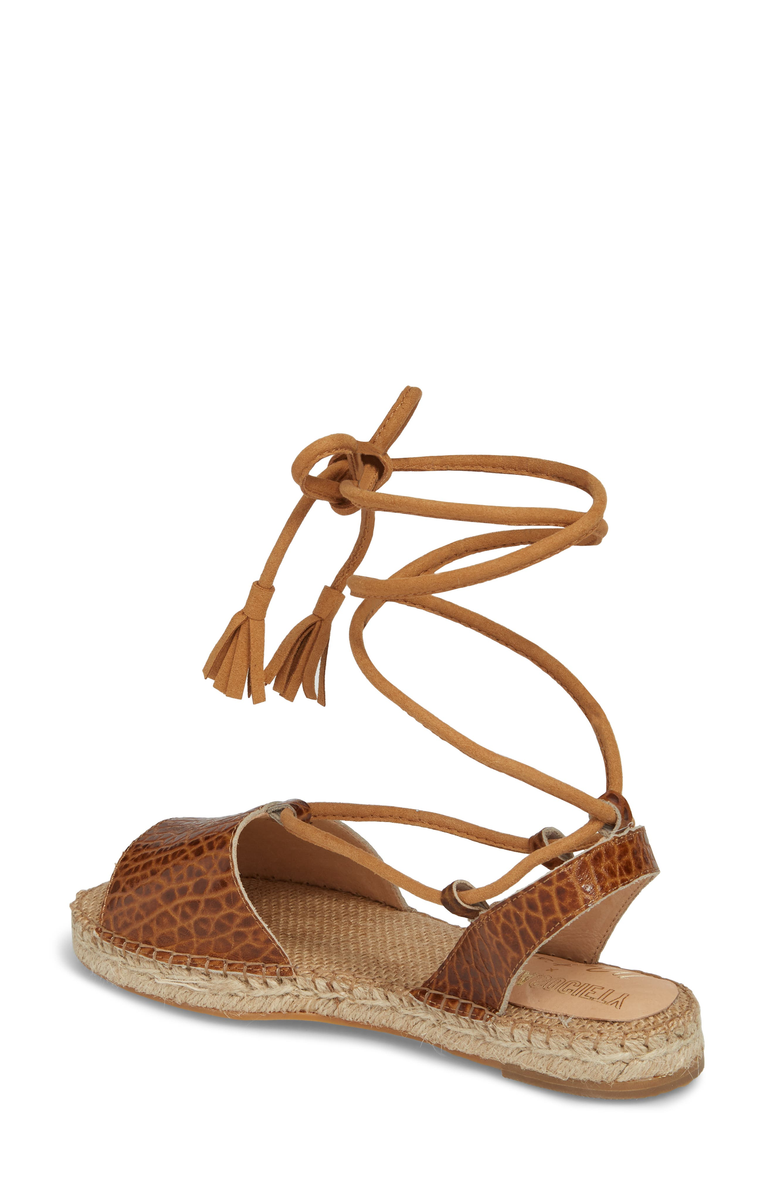 Amuse Society x Matisse La Vita Sandal,                             Alternate thumbnail 2, color,                             Tan Leather
