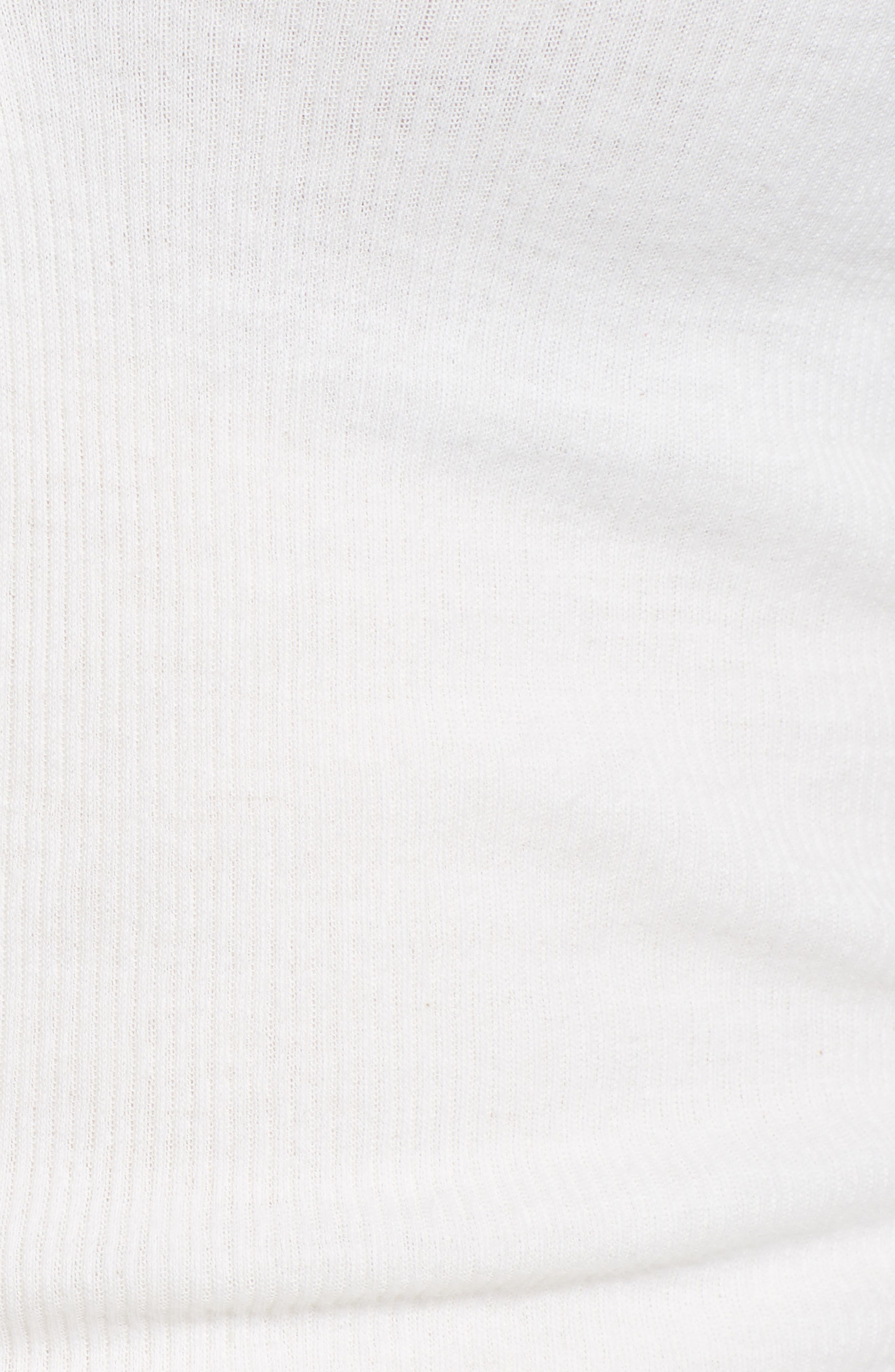 Ribbed Cotton & Cashmere Henley,                             Alternate thumbnail 3, color,                             White
