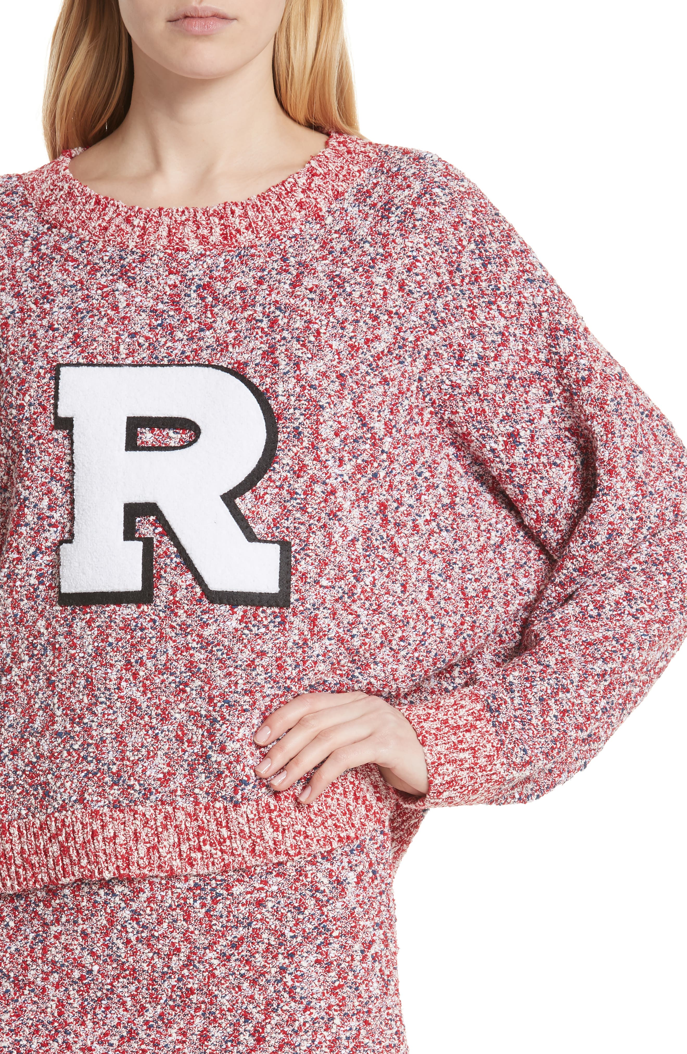 Halstead Sweater,                             Alternate thumbnail 4, color,                             Red