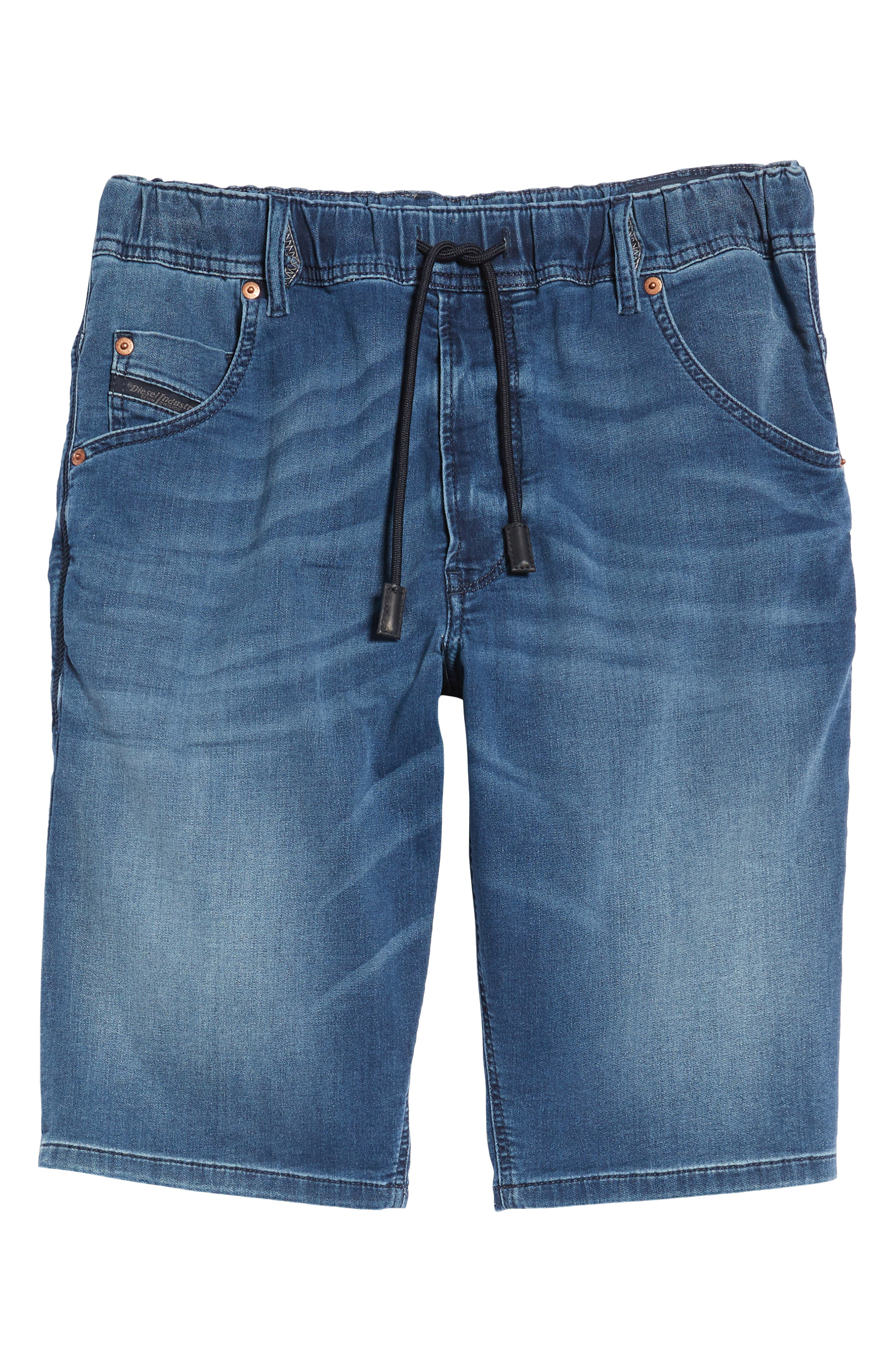 Krooshort Denim Shorts,                             Alternate thumbnail 6, color,                             0687C