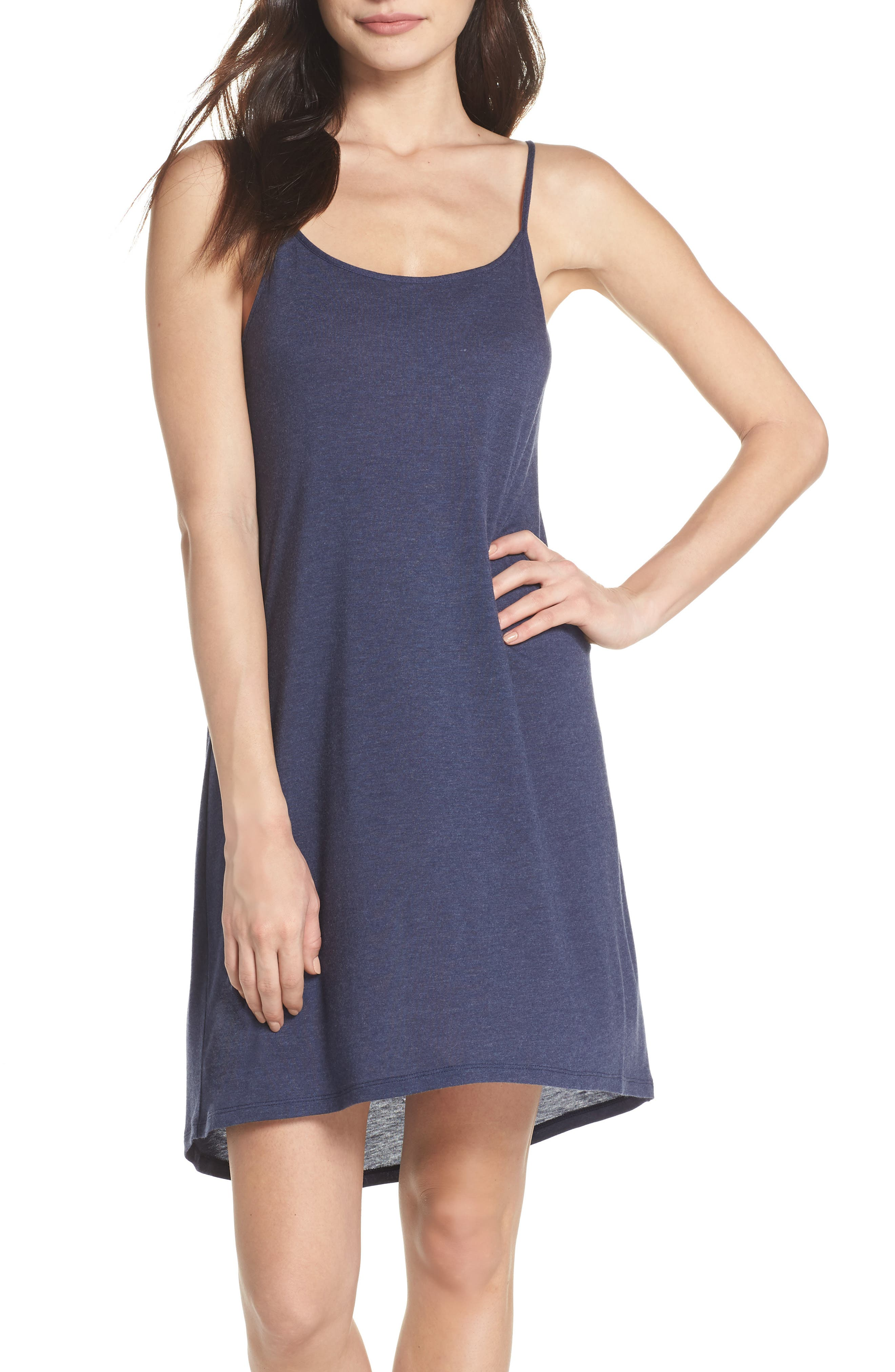Heather Tees Chemise in Hnb Ht. Night Blue
