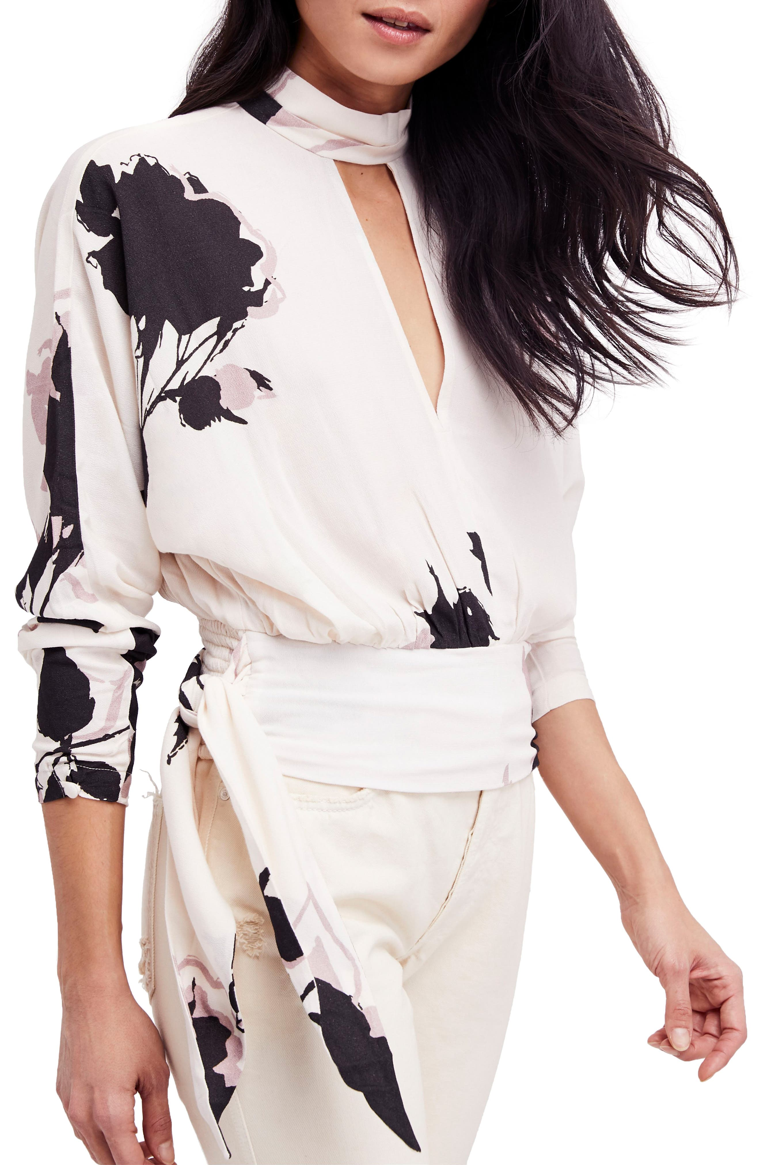 Say You Love Me Blouse,                         Main,                         color, Ivory