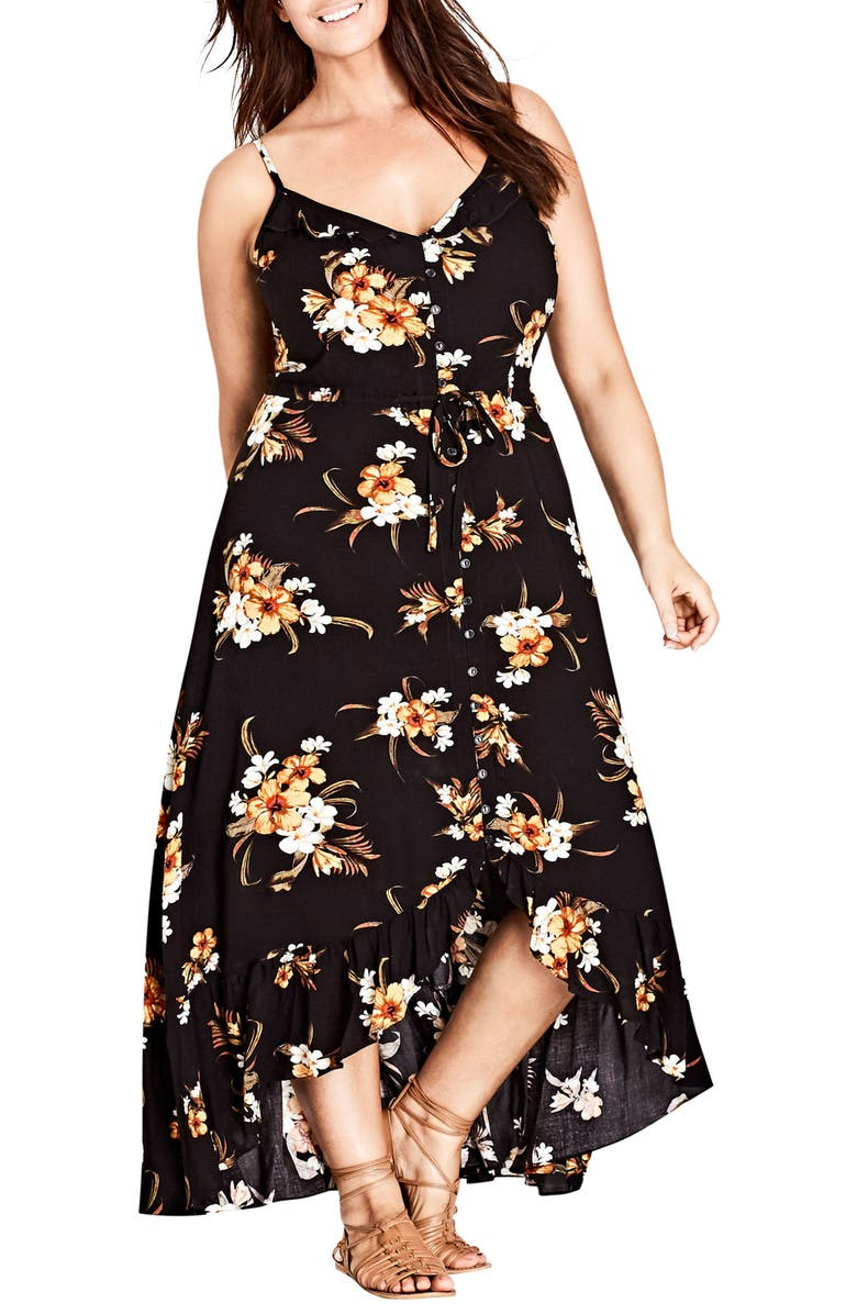 Aruba Floral Maxi Dress