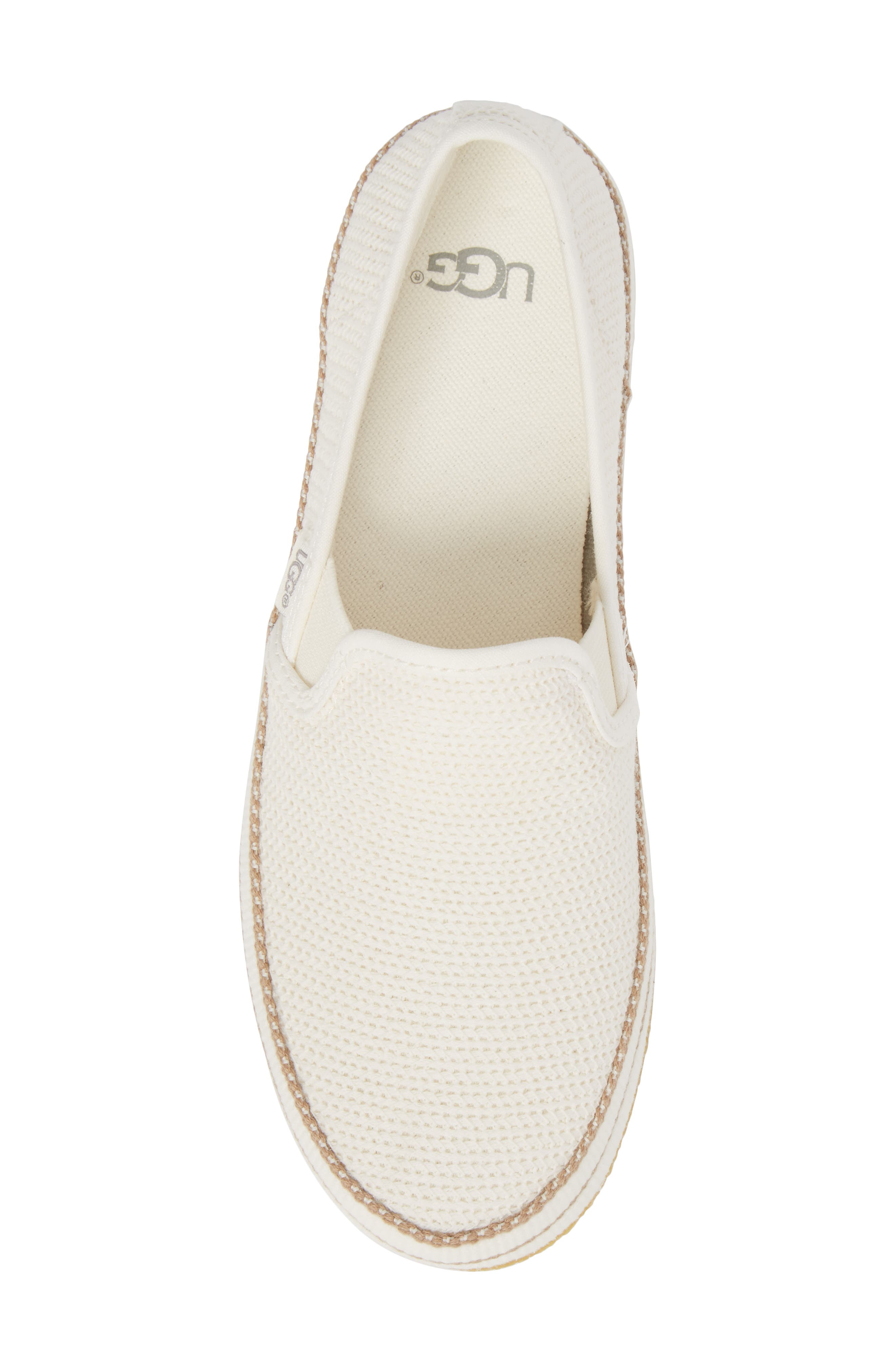 Bren Slip-On Sneaker,                             Alternate thumbnail 5, color,                             Natural