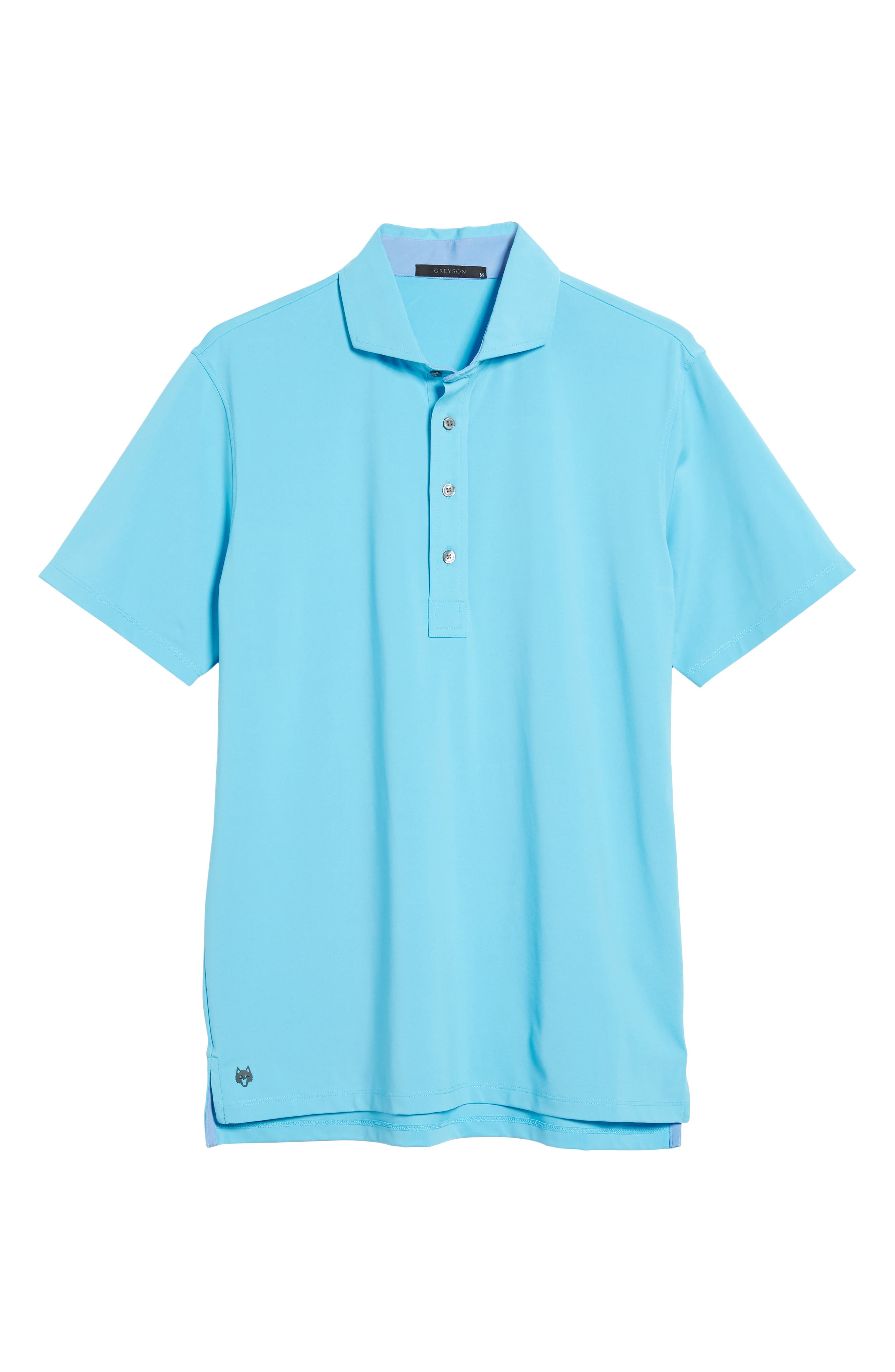 Tala Airflow Jersey Polo,                             Alternate thumbnail 6, color,                             Barracuda