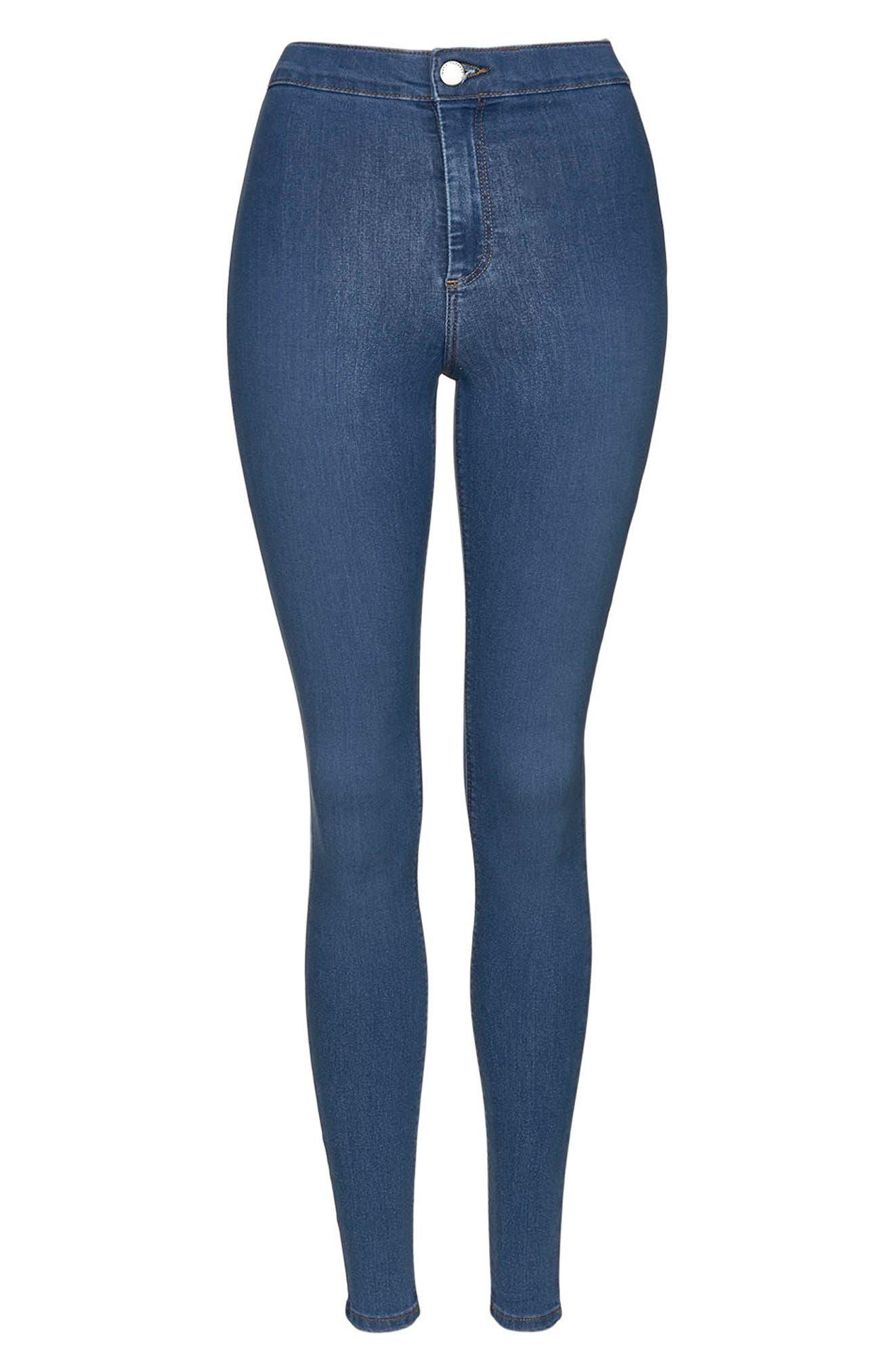 Joni Mid Denim Jeans,                             Alternate thumbnail 5, color,                             Mid Denim