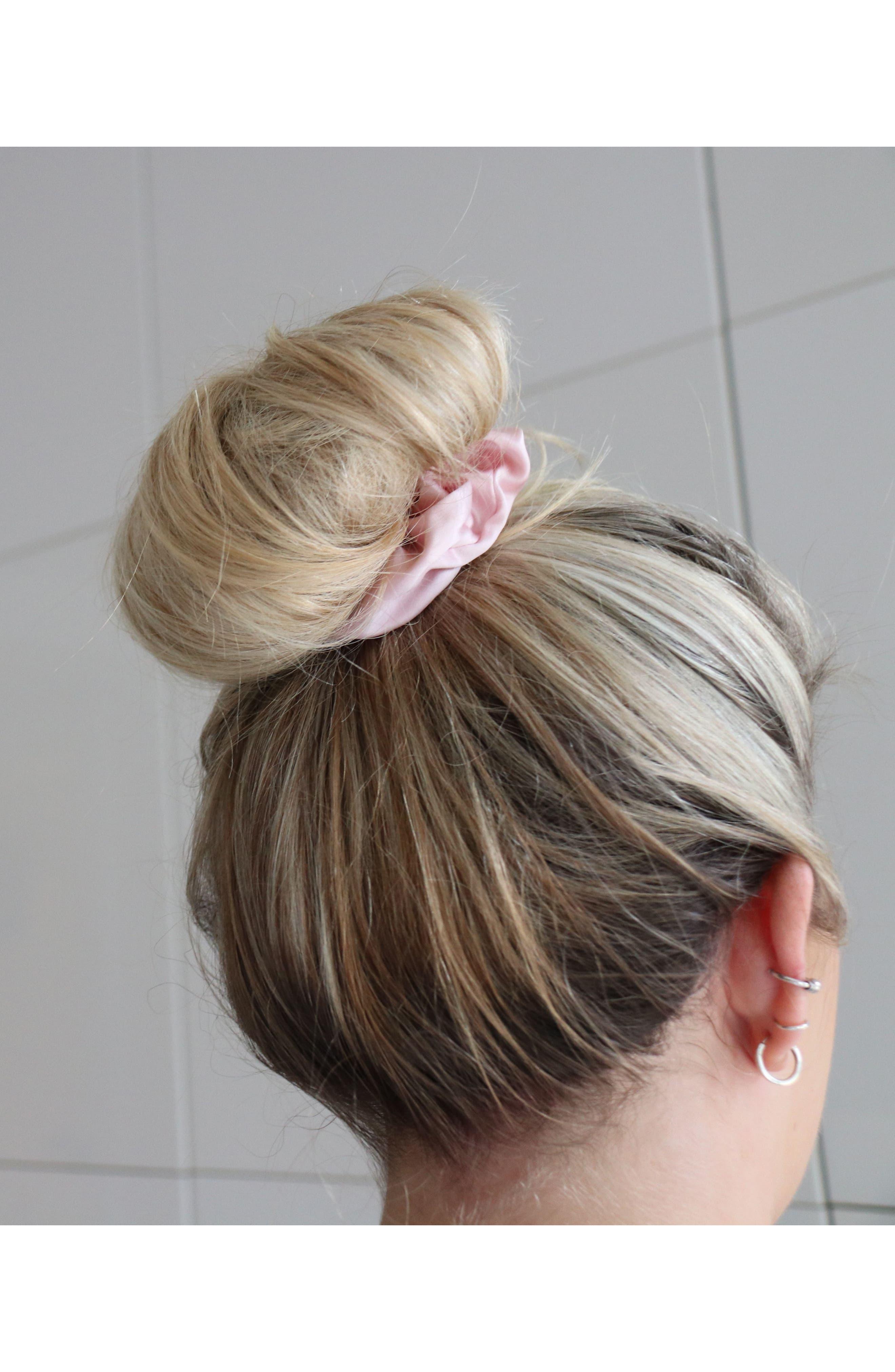 slip<sup>™</sup> for beauty sleep 3-Pack Slipsilk<sup>™</sup> Hair Ties,                             Alternate thumbnail 4, color,