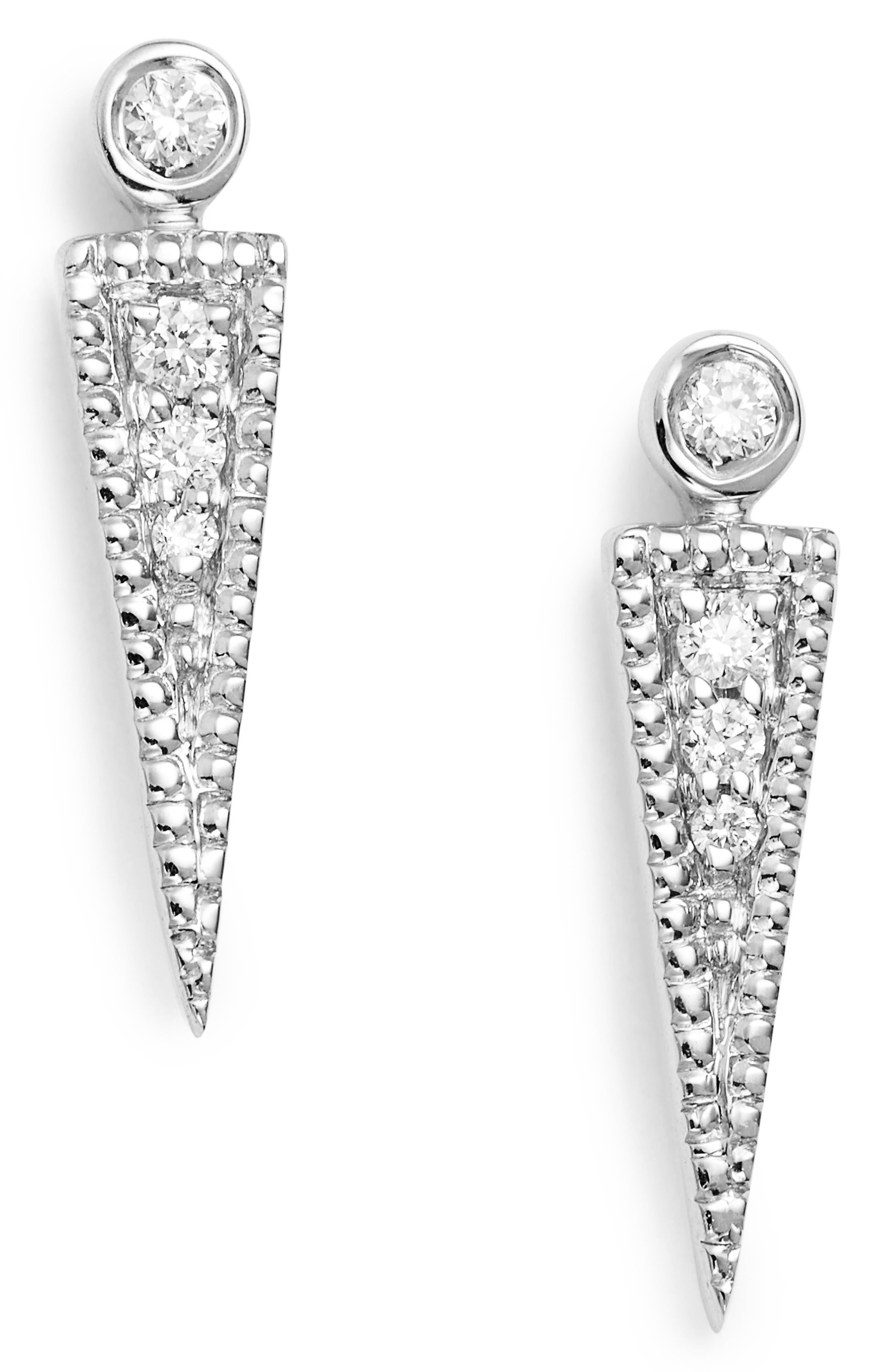 Dana Rebecca Samantha Lynn Diamond Dagger Earrings