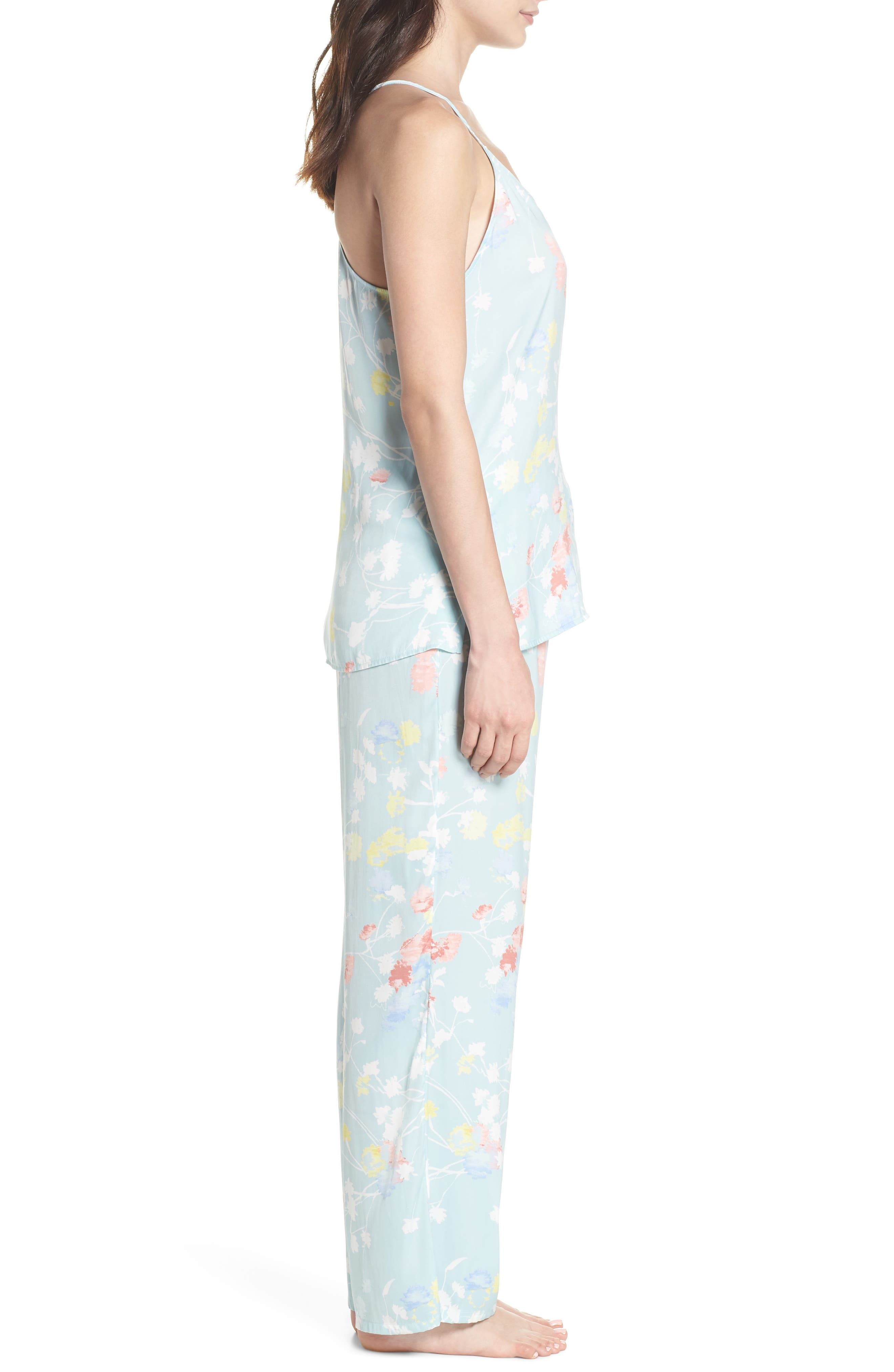 Bardot Dreamland Pajamas,                             Alternate thumbnail 3, color,                             Sgb Seaglass