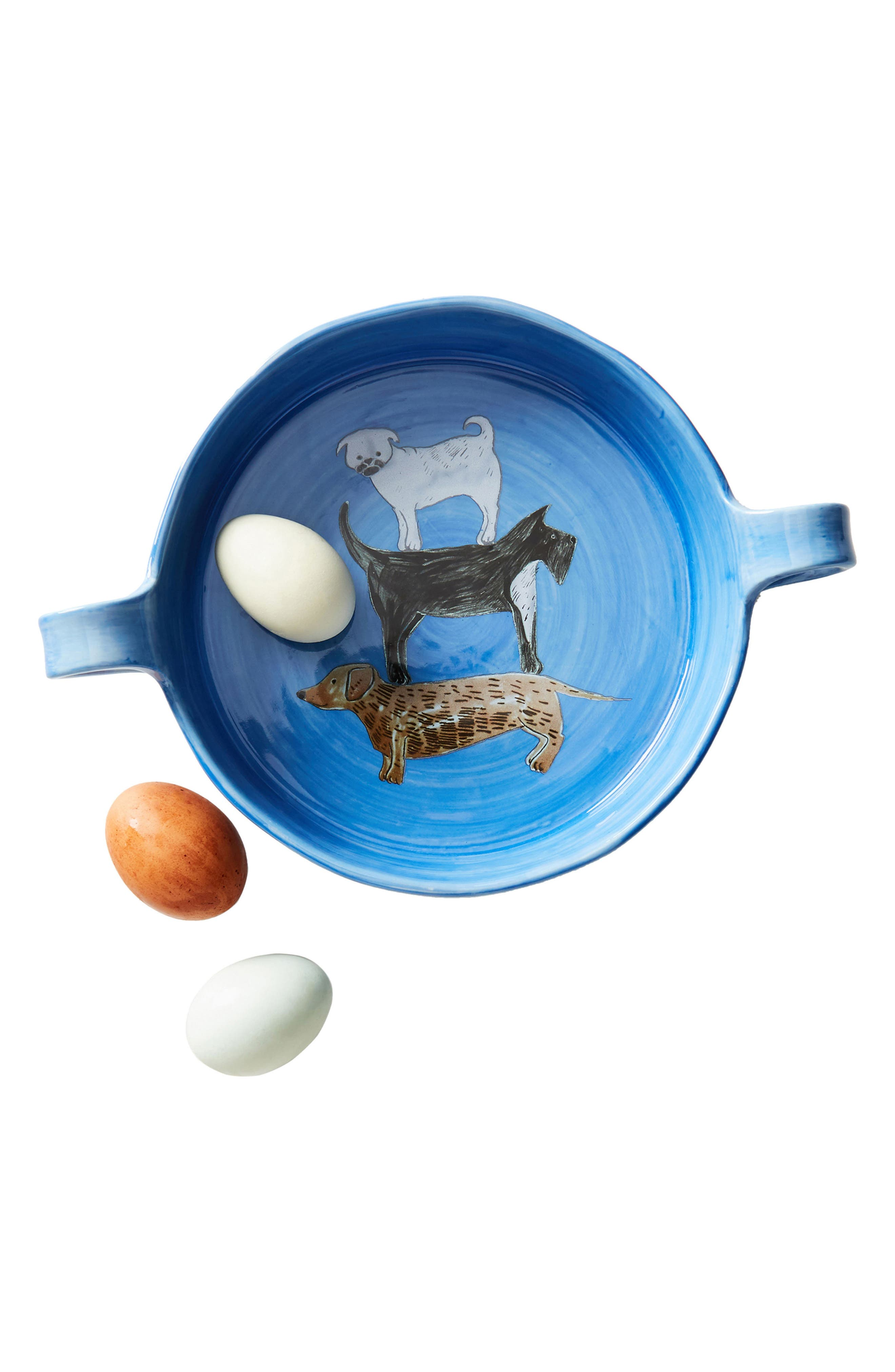 Alternate Image 5  - Anthropologie Painted Pup Stoneware Pie Dish