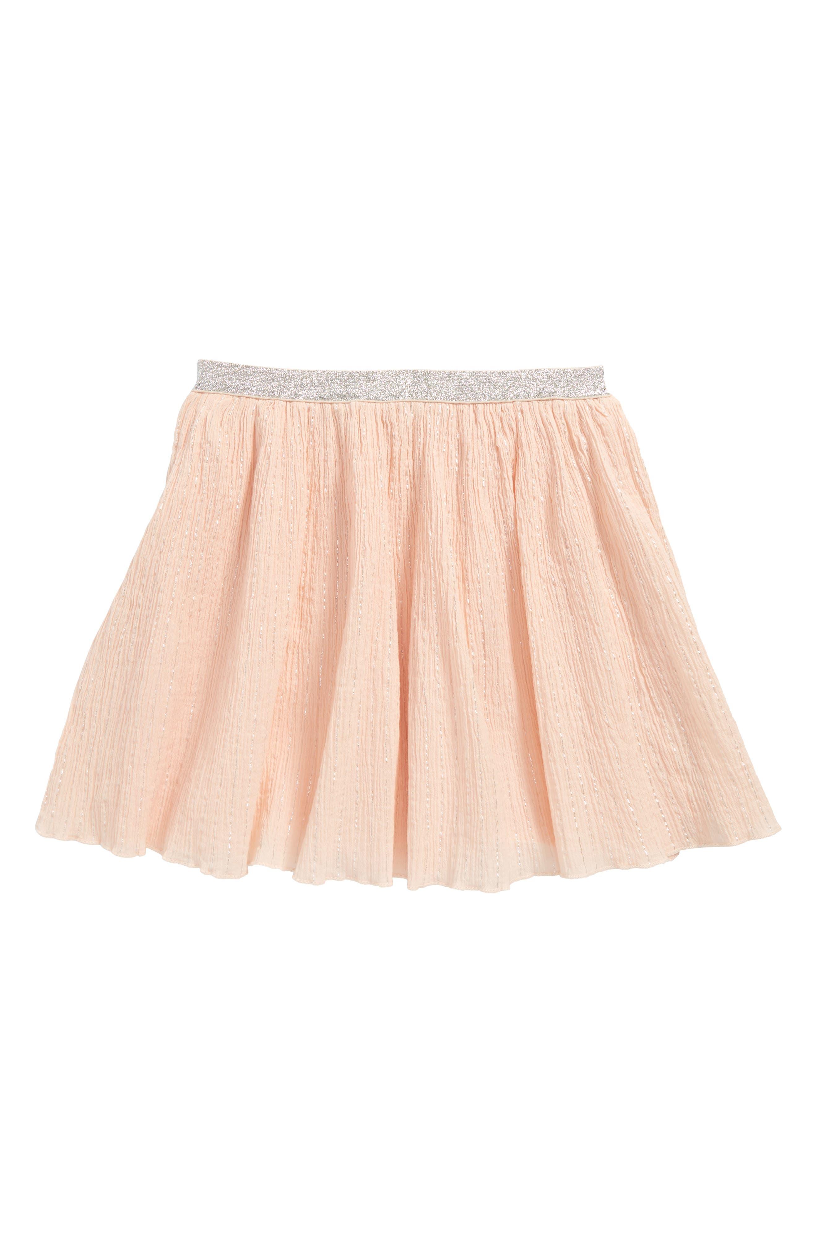 Hailey Skirt,                         Main,                         color, Peach