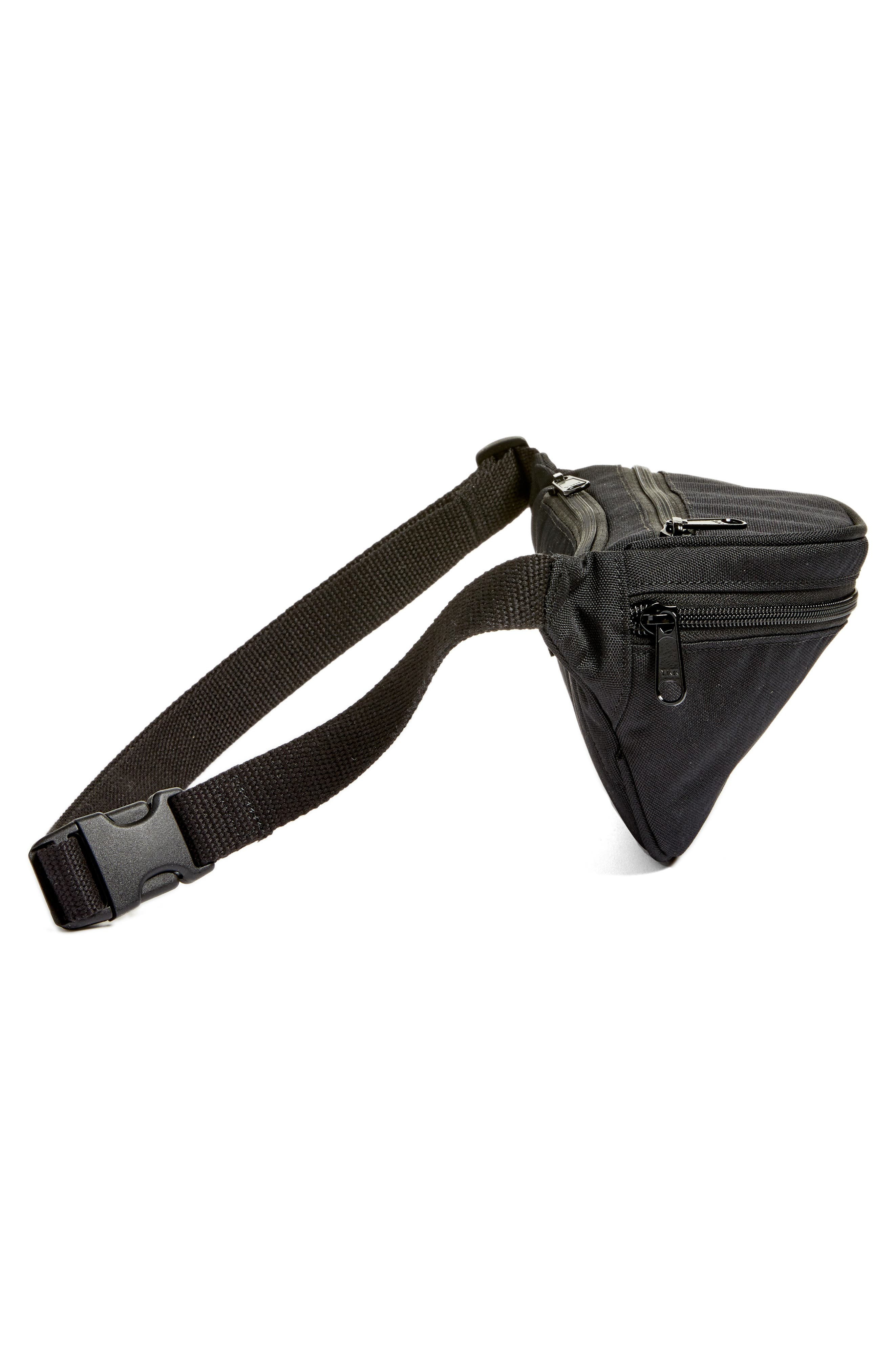 Belt Bag,                             Alternate thumbnail 4, color,                             Black/Black