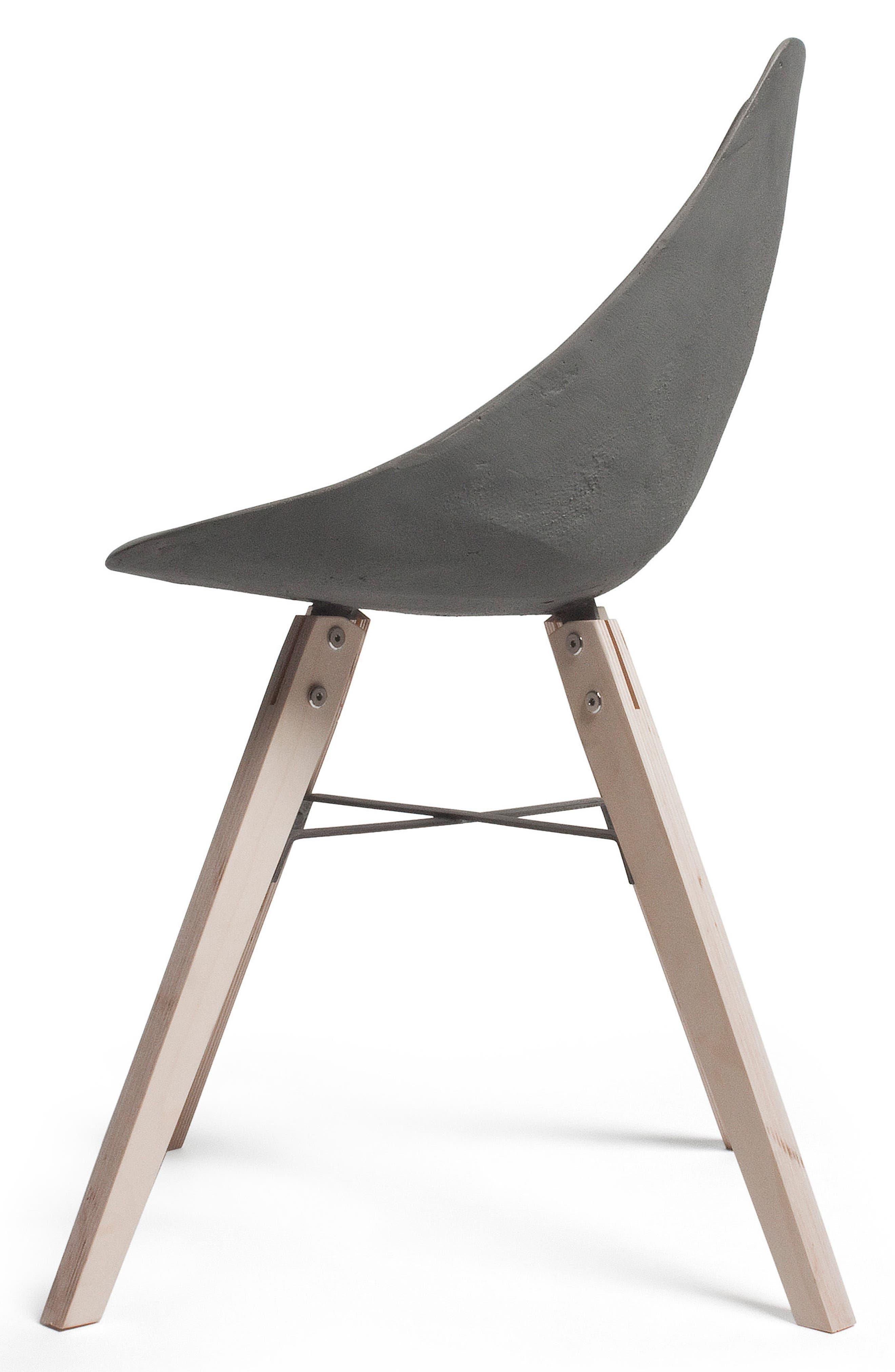 Lyon Béton Hauteville Chair,                             Alternate thumbnail 7, color,                             Cement