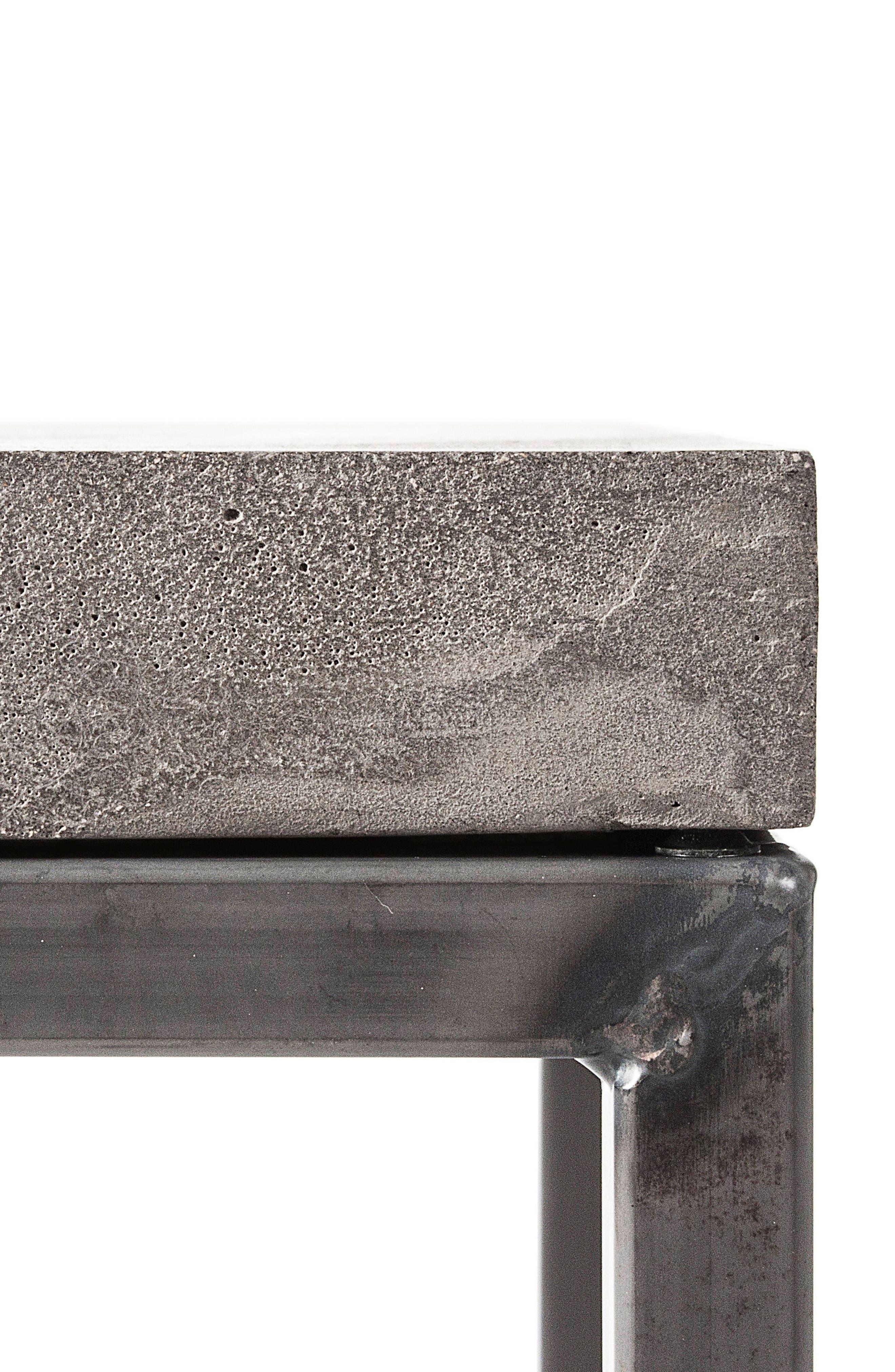 Lyon Béton Perspective Side Table,                             Alternate thumbnail 2, color,                             Cement