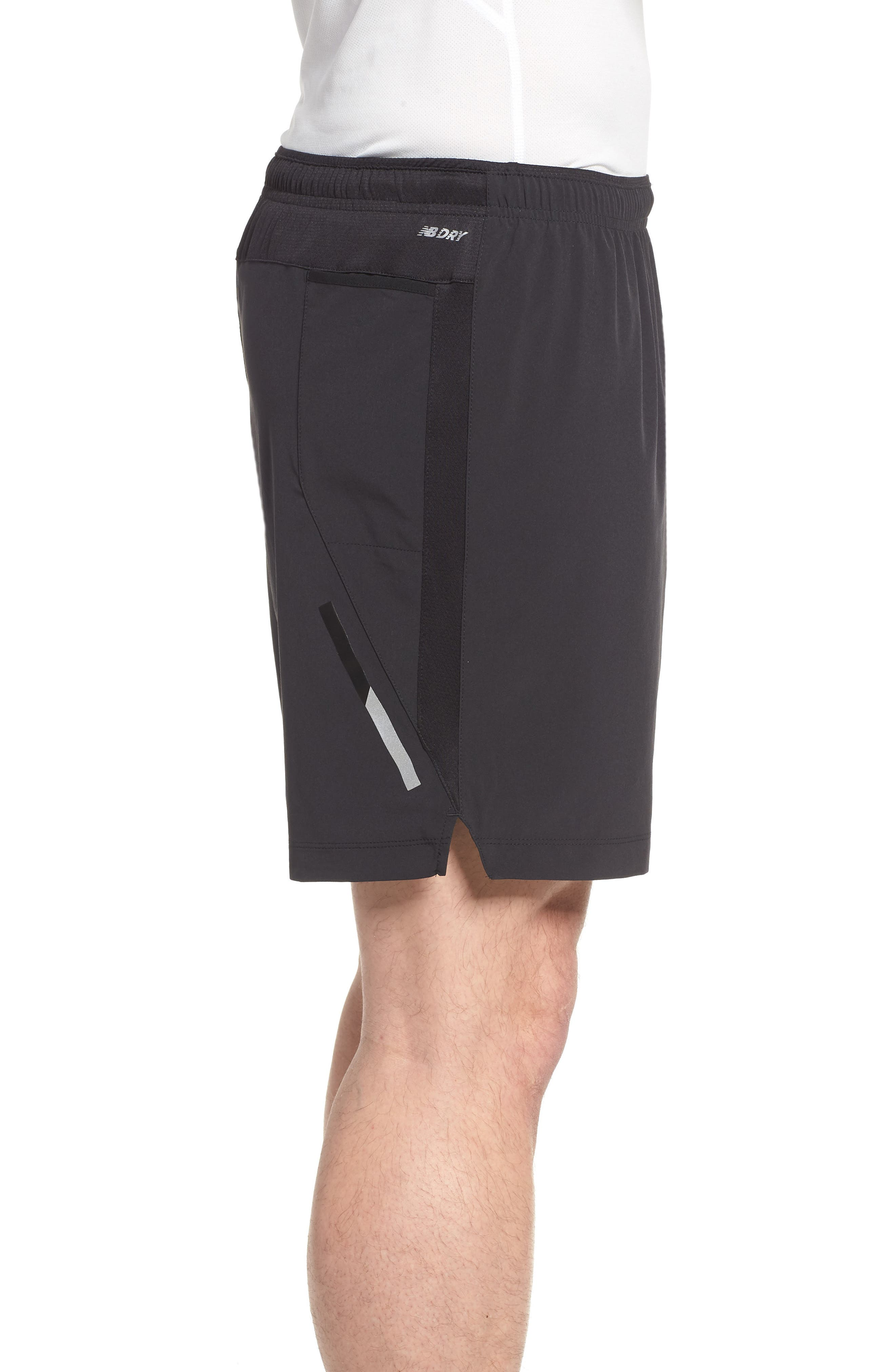 Impact Shorts,                             Alternate thumbnail 3, color,                             Black