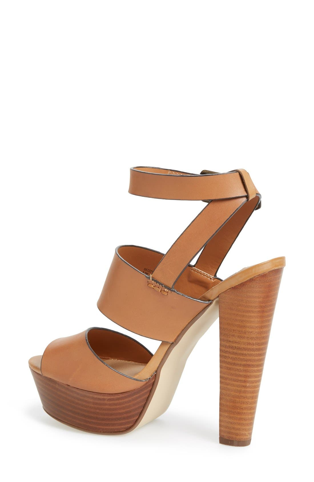 Alternate Image 2  - Steve Madden 'Dezzzy' Leather Ankle Strap Sandal (Women)