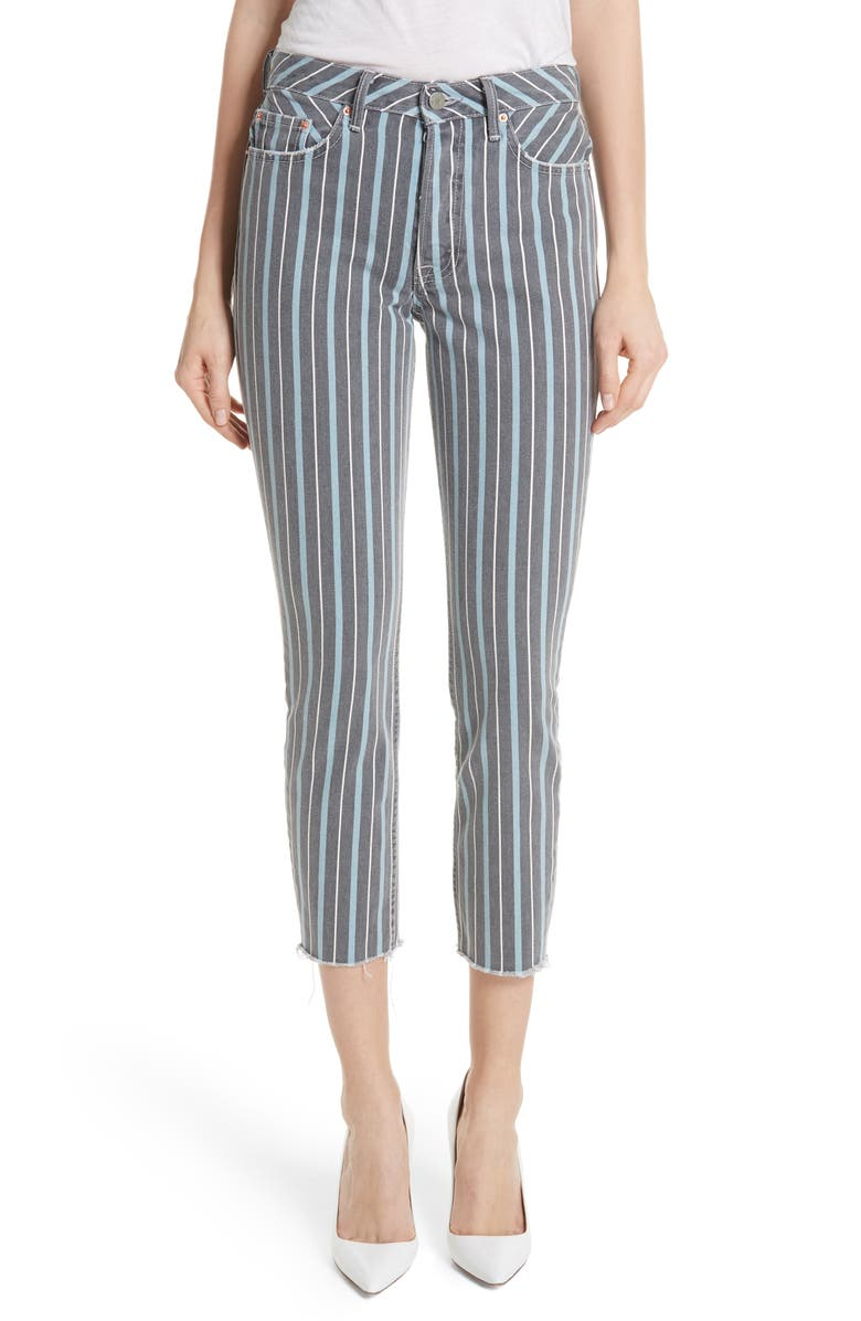 Karolina High Waist Crop Skinny Jeans