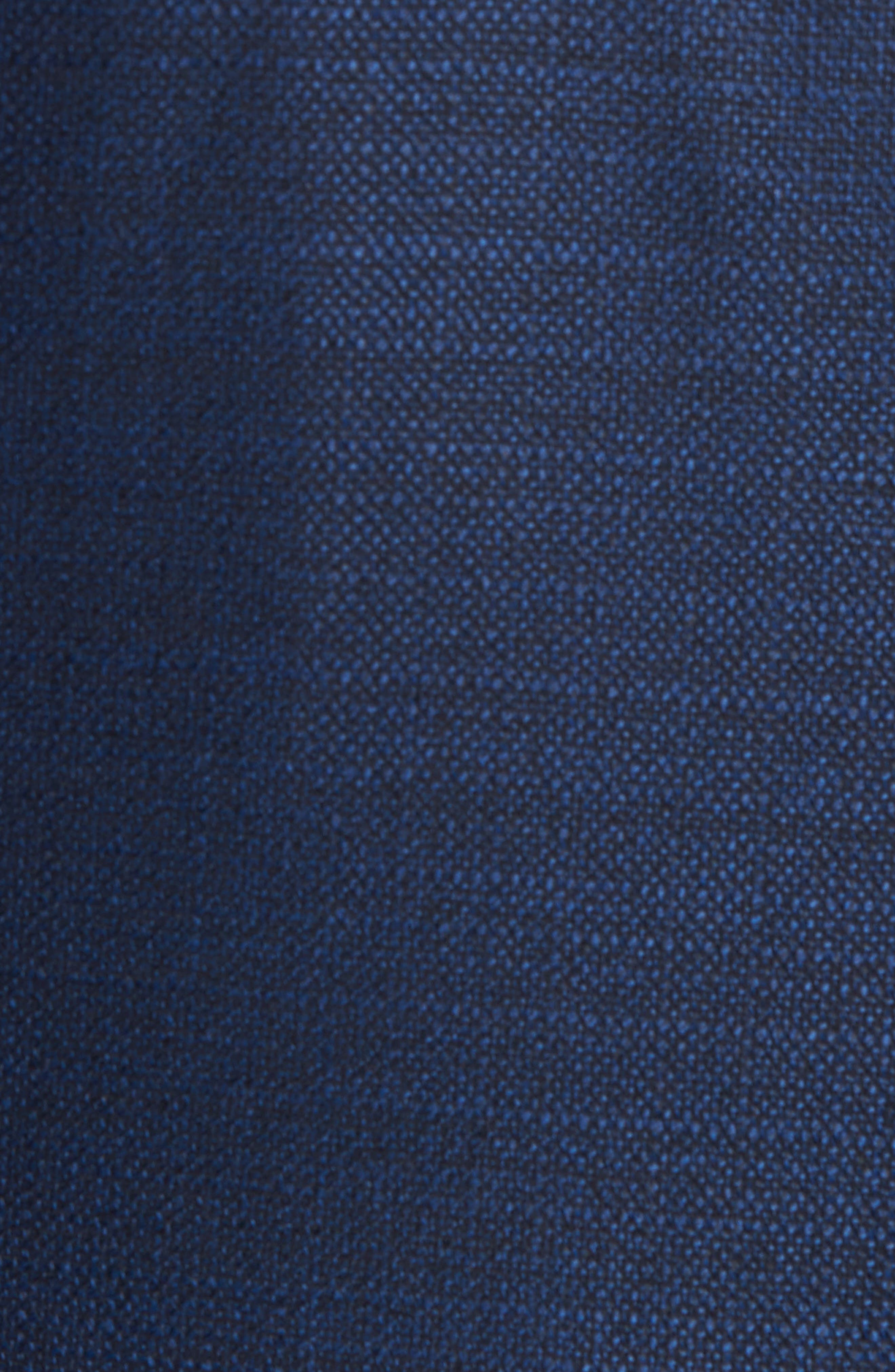 Trim Fit Wool Blazer,                             Alternate thumbnail 5, color,                             Navy