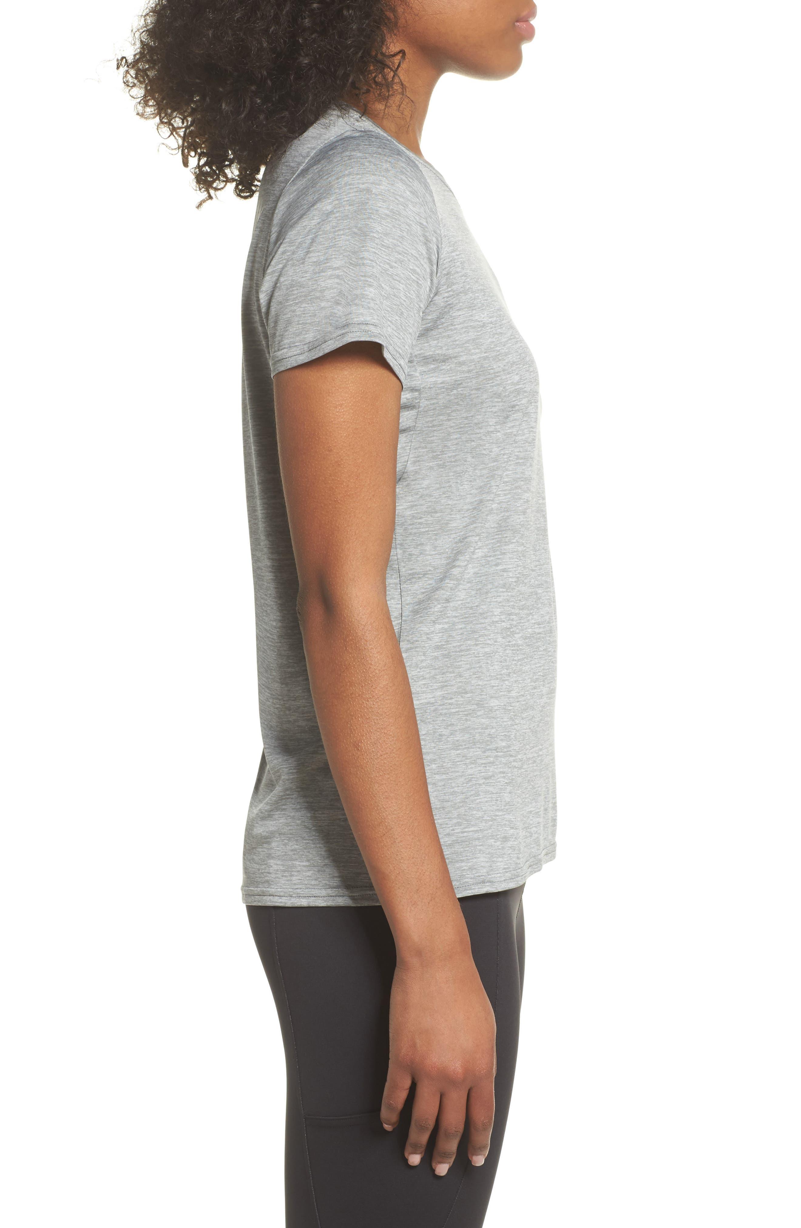 Capilene<sup>®</sup> Dailty T-Shirt,                             Alternate thumbnail 3, color,                             Feather Grey