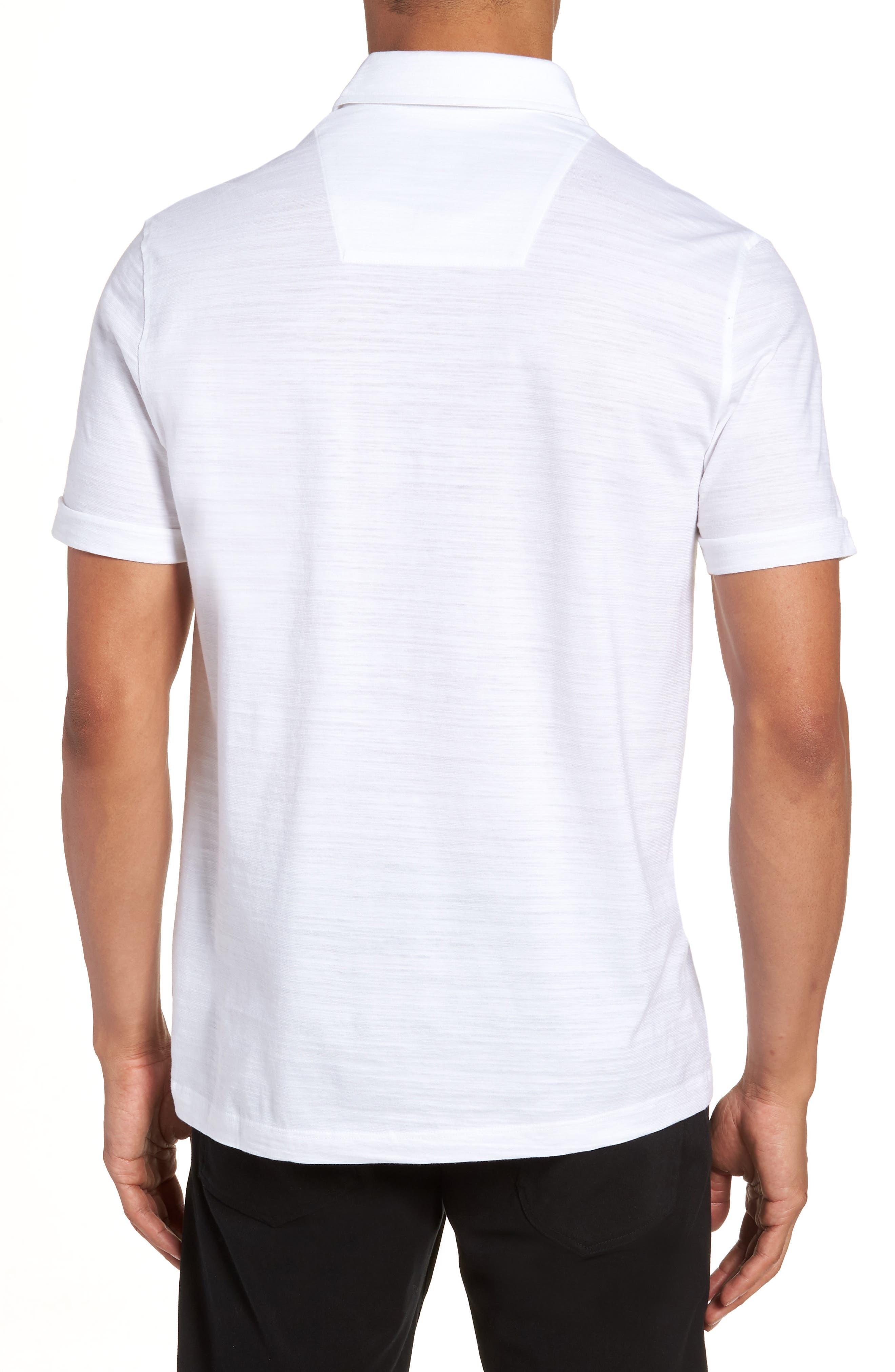 Alternate Image 2  - BOSS Press Flame Slim Fit Polo Shirt