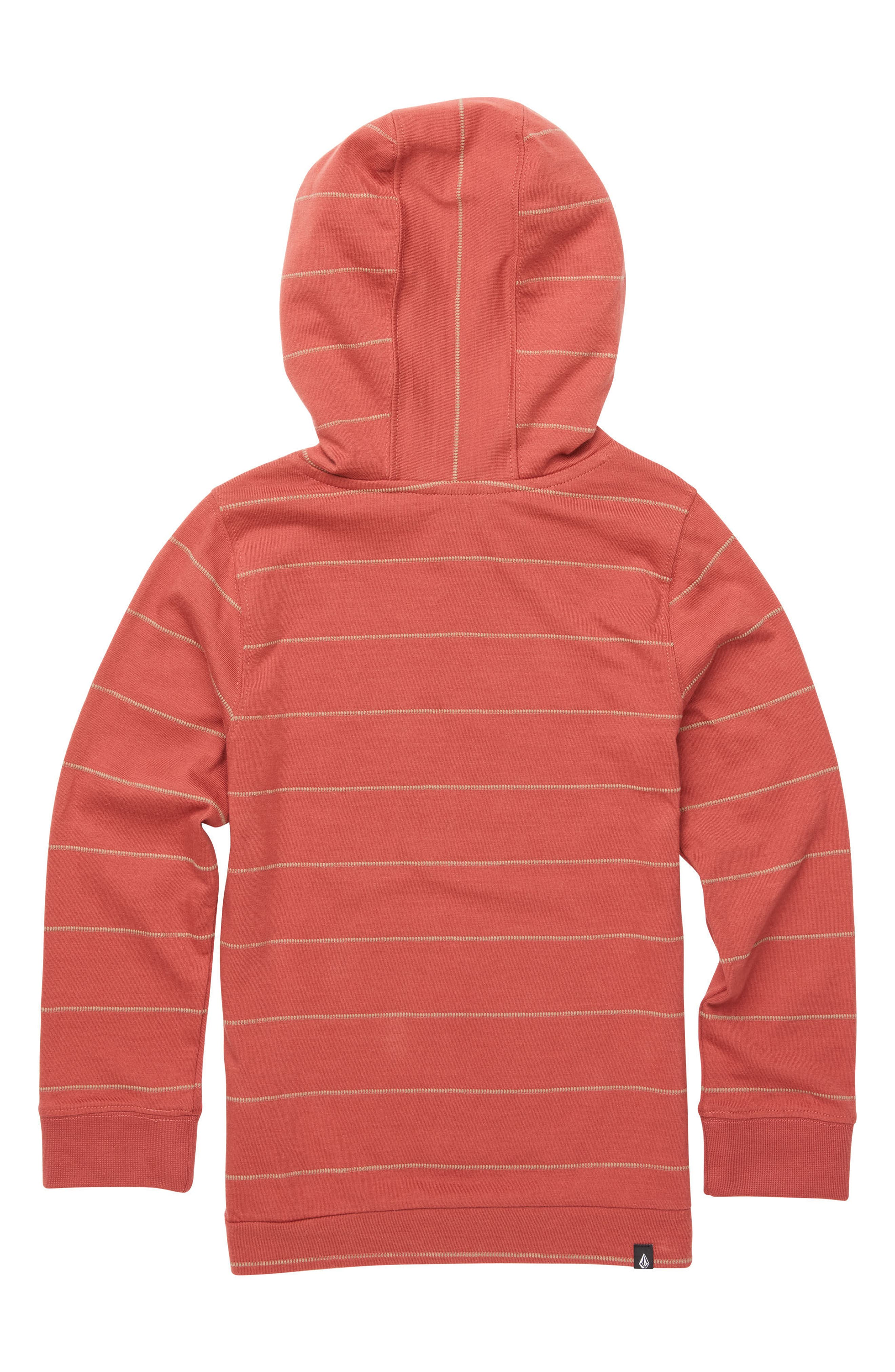 Wallace Knit Hoodie,                             Alternate thumbnail 2, color,                             Dead Rose