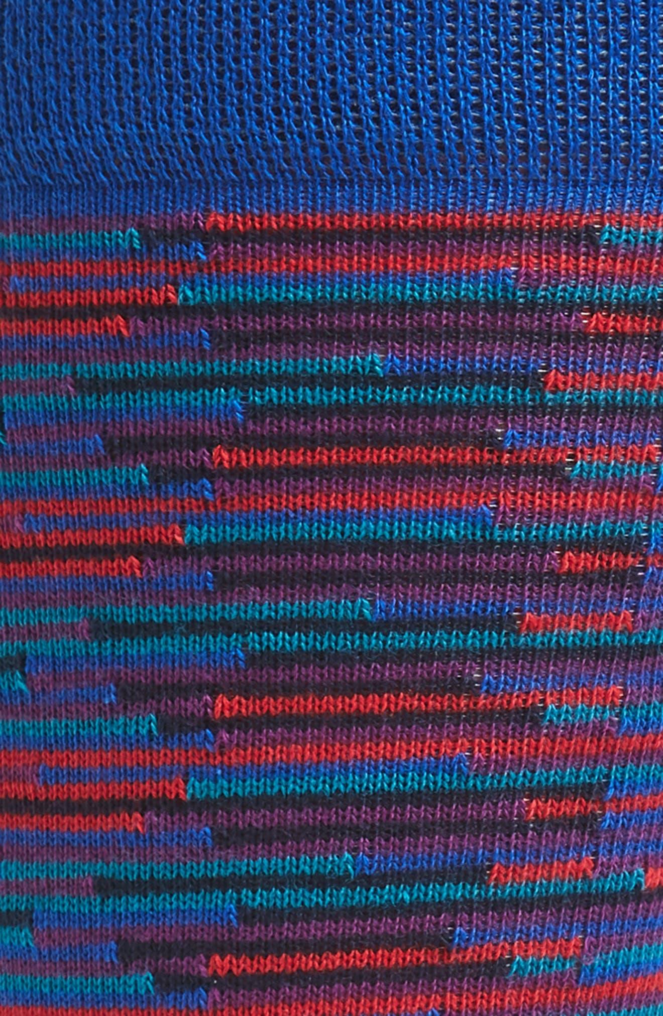 Newtape Stripe Socks,                             Alternate thumbnail 2, color,                             Blue