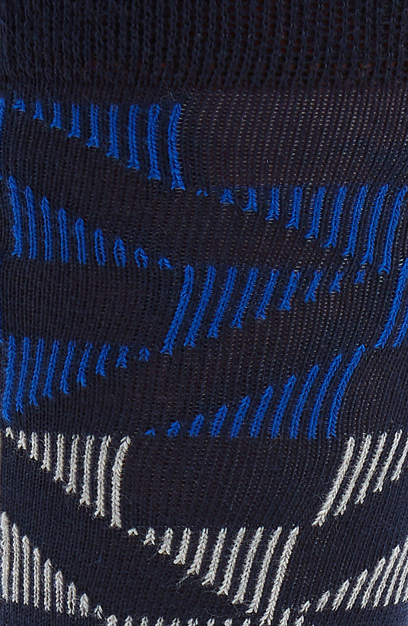 Newhome Geometric Socks,                             Alternate thumbnail 2, color,                             Blue