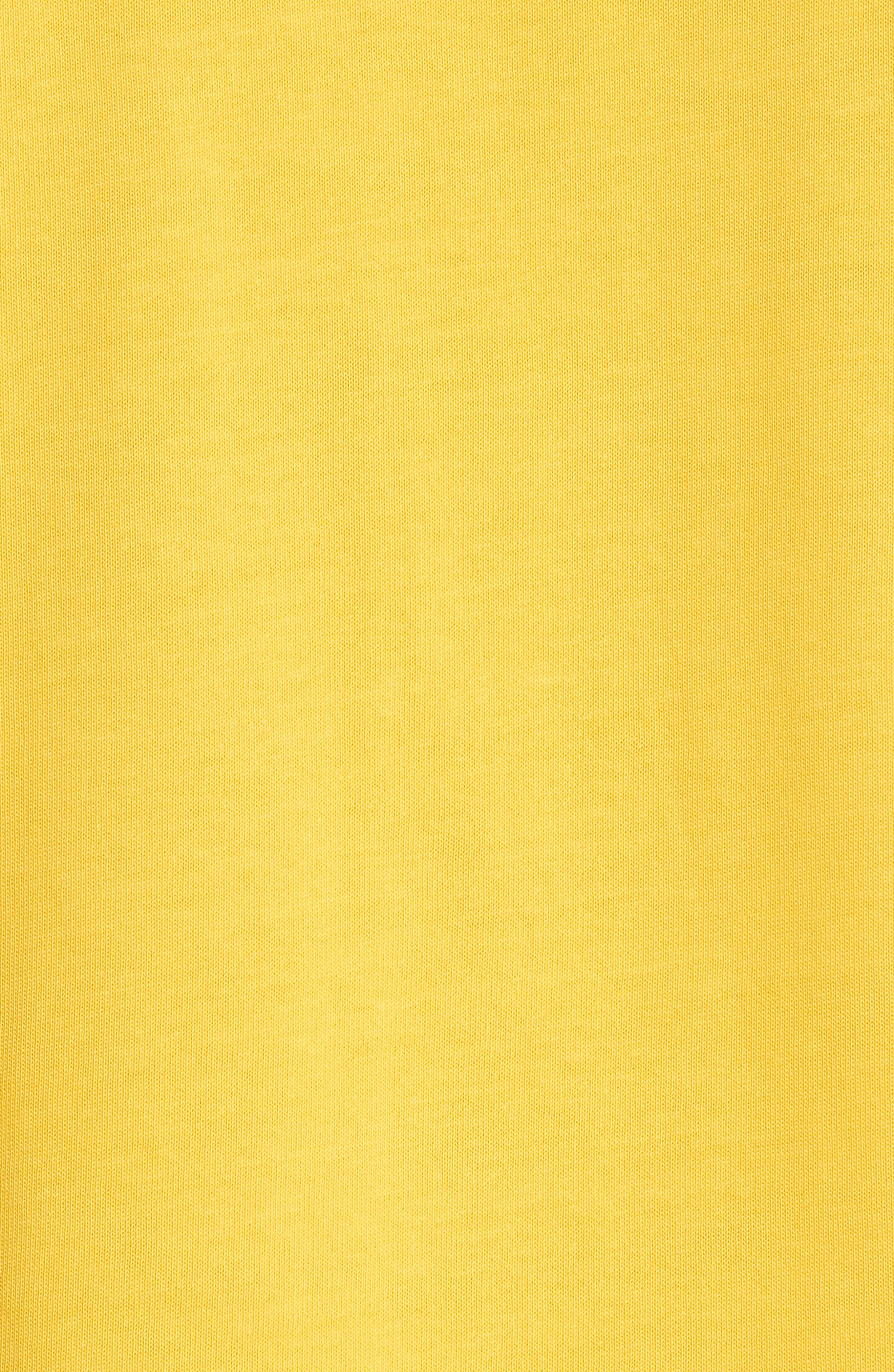 Tall T-Shirt,                             Alternate thumbnail 5, color,                             Yellow